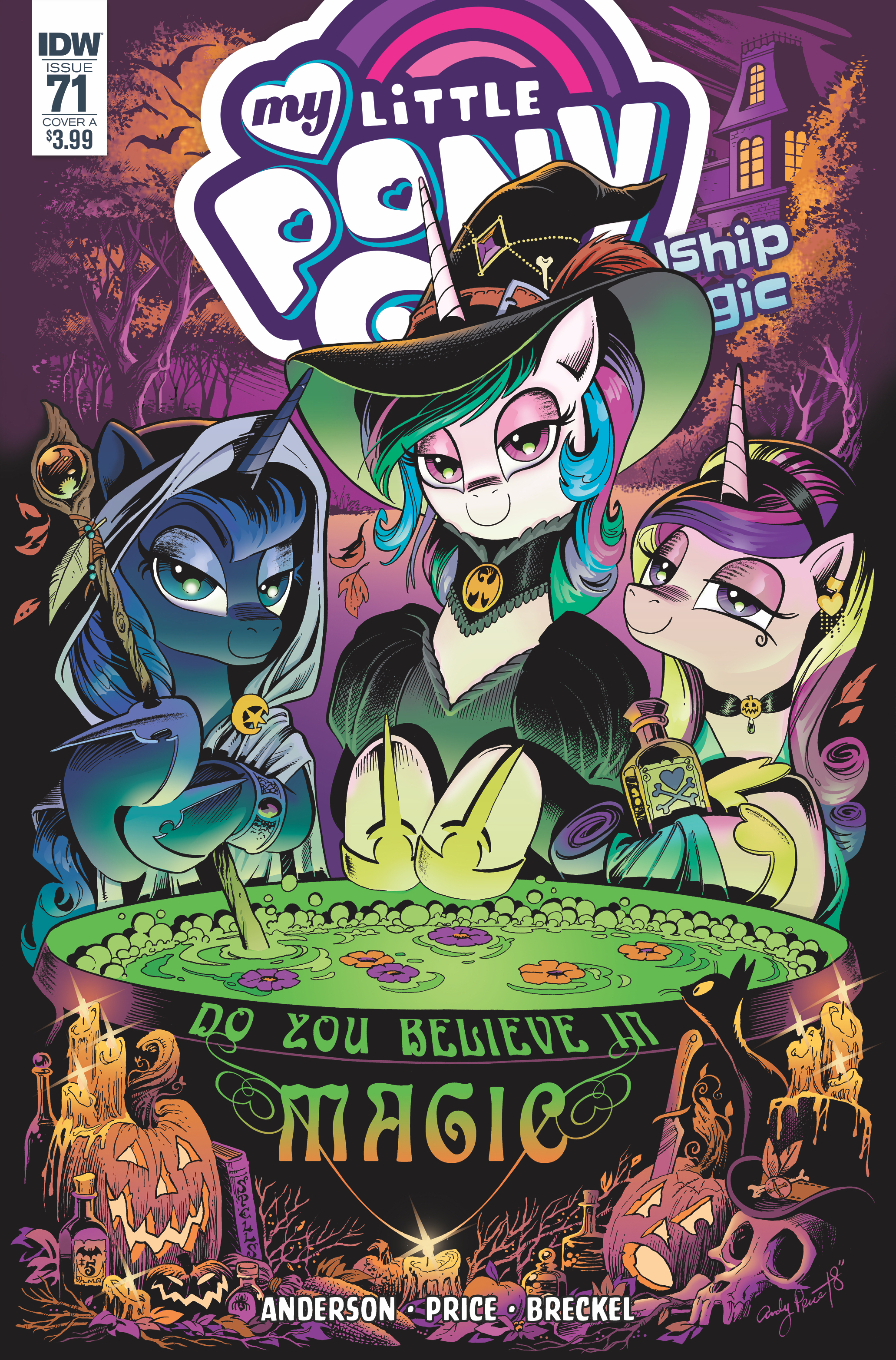 MY LITTLE PONY FRIENDSHIP IS MAGIC #71 CVR A PRICE