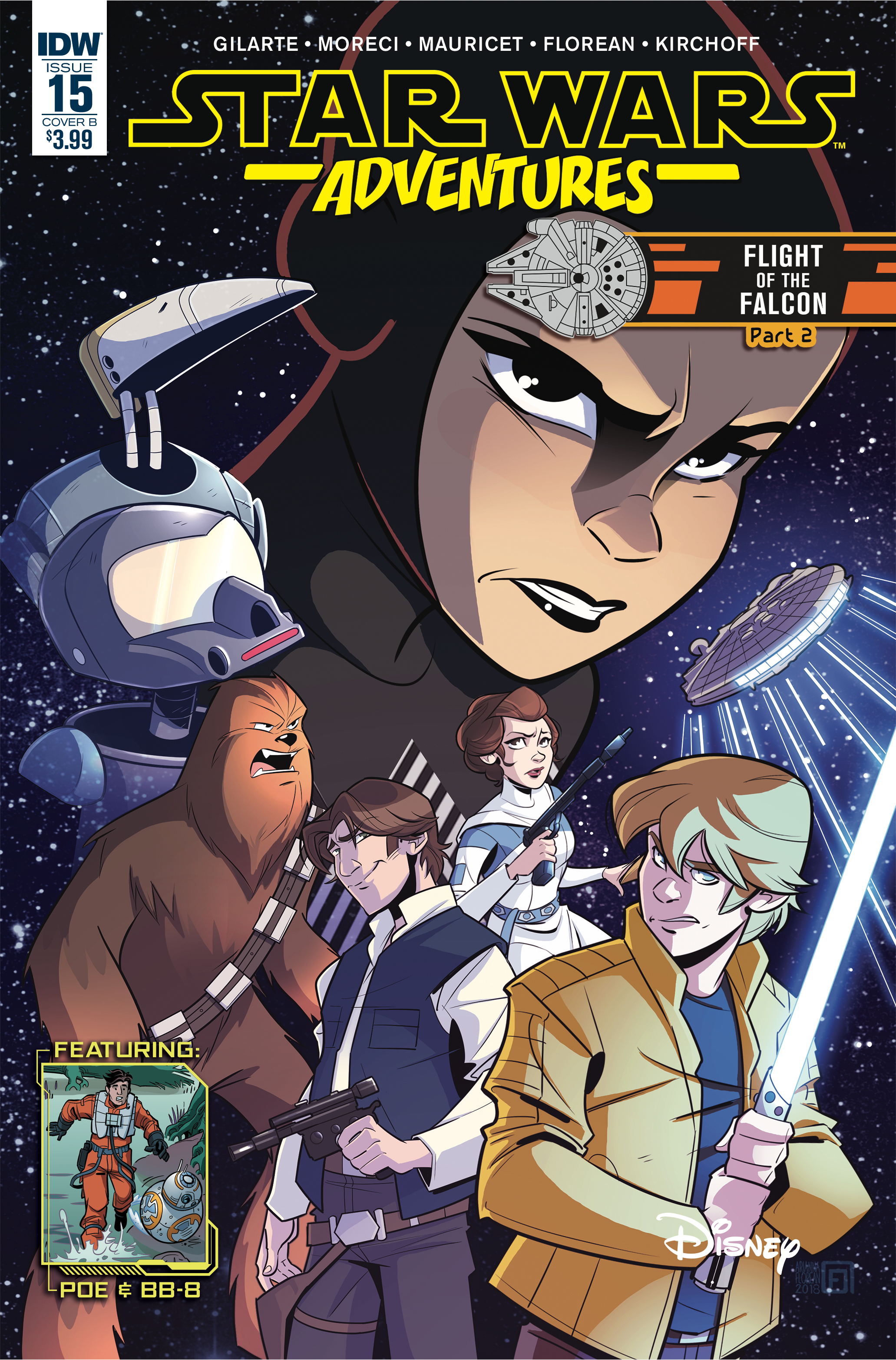 STAR WARS ADVENTURES #15 CVR B FLOREAN