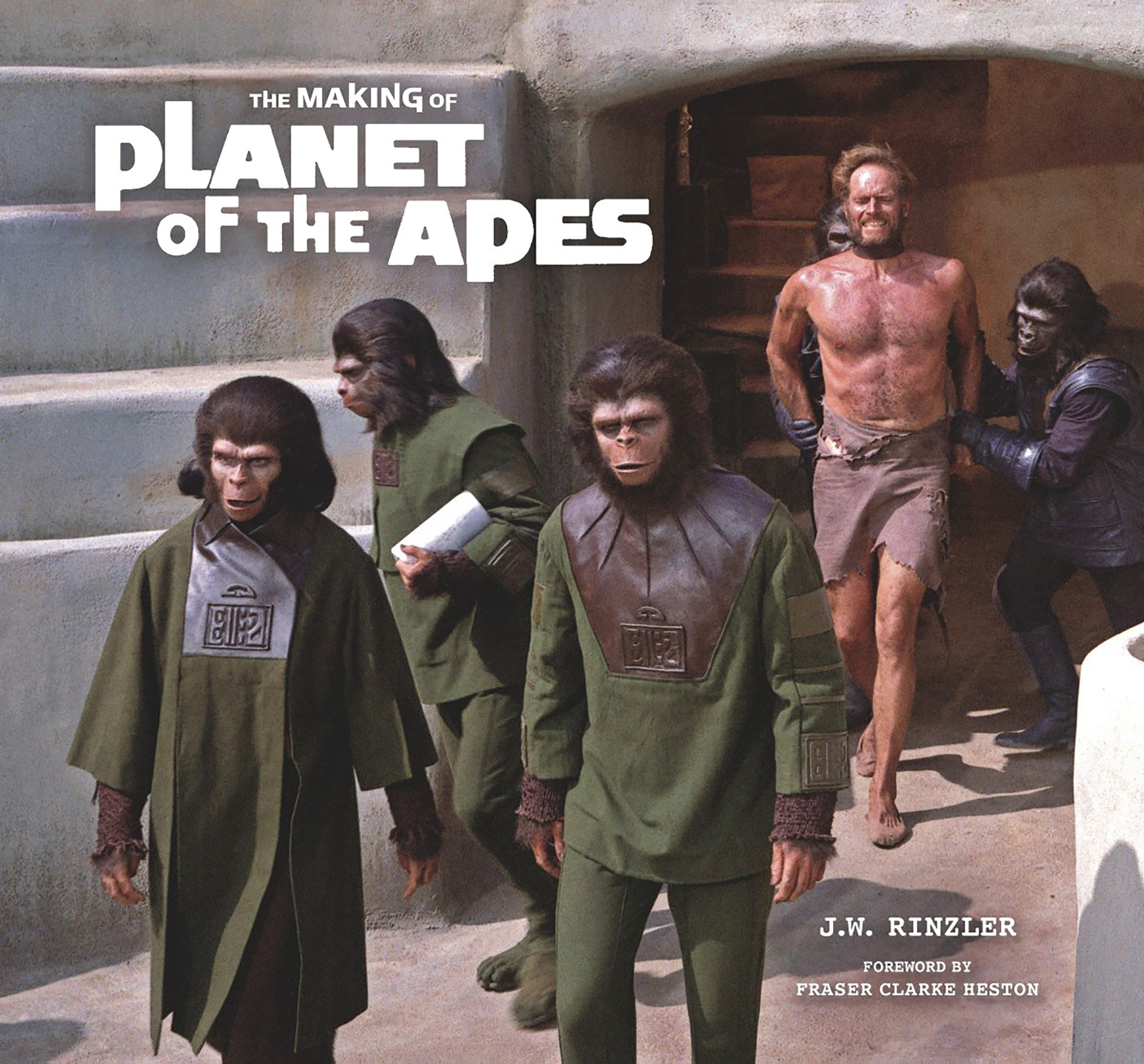 MAKING OF PLANET OF THE APES HC