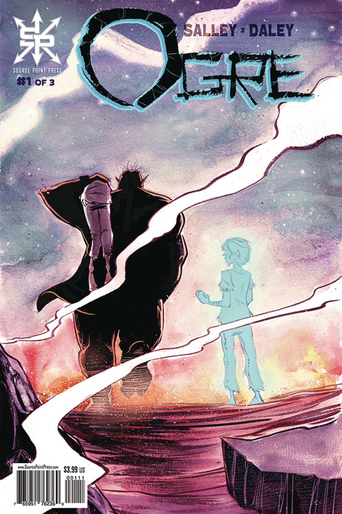 OGRE #1 (OF 3) (MR)