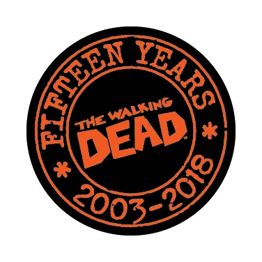 WALKING DEAD DAY 1 INCH BUTTON (BUNDLE OF 25)