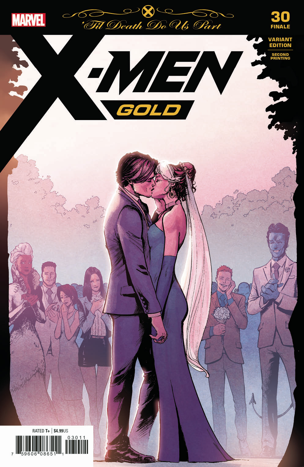 X-MEN GOLD #30 2ND PTG MARQUEZ VAR