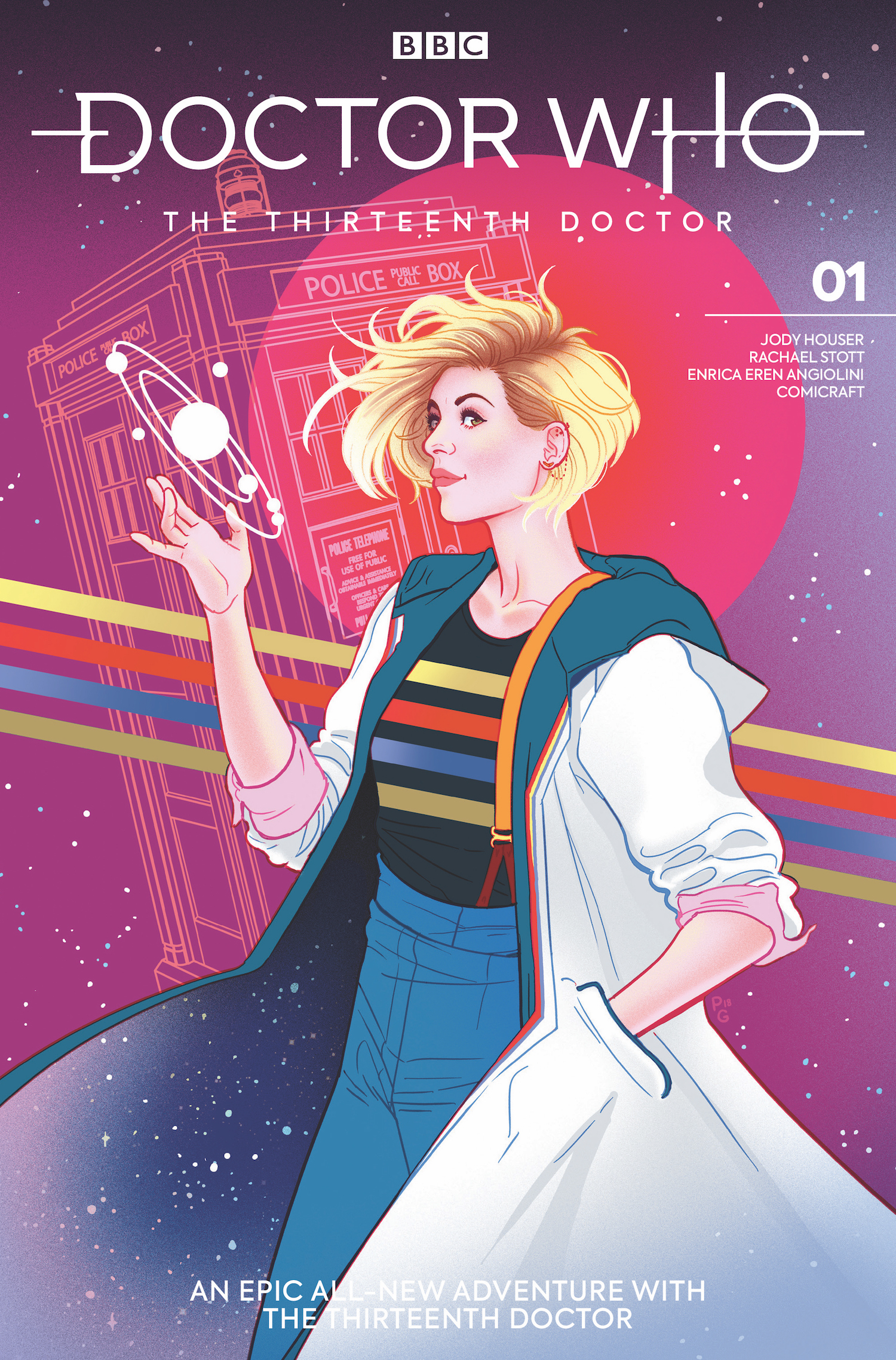 DOCTOR WHO 13TH #1 CVR F GANUCHEAU