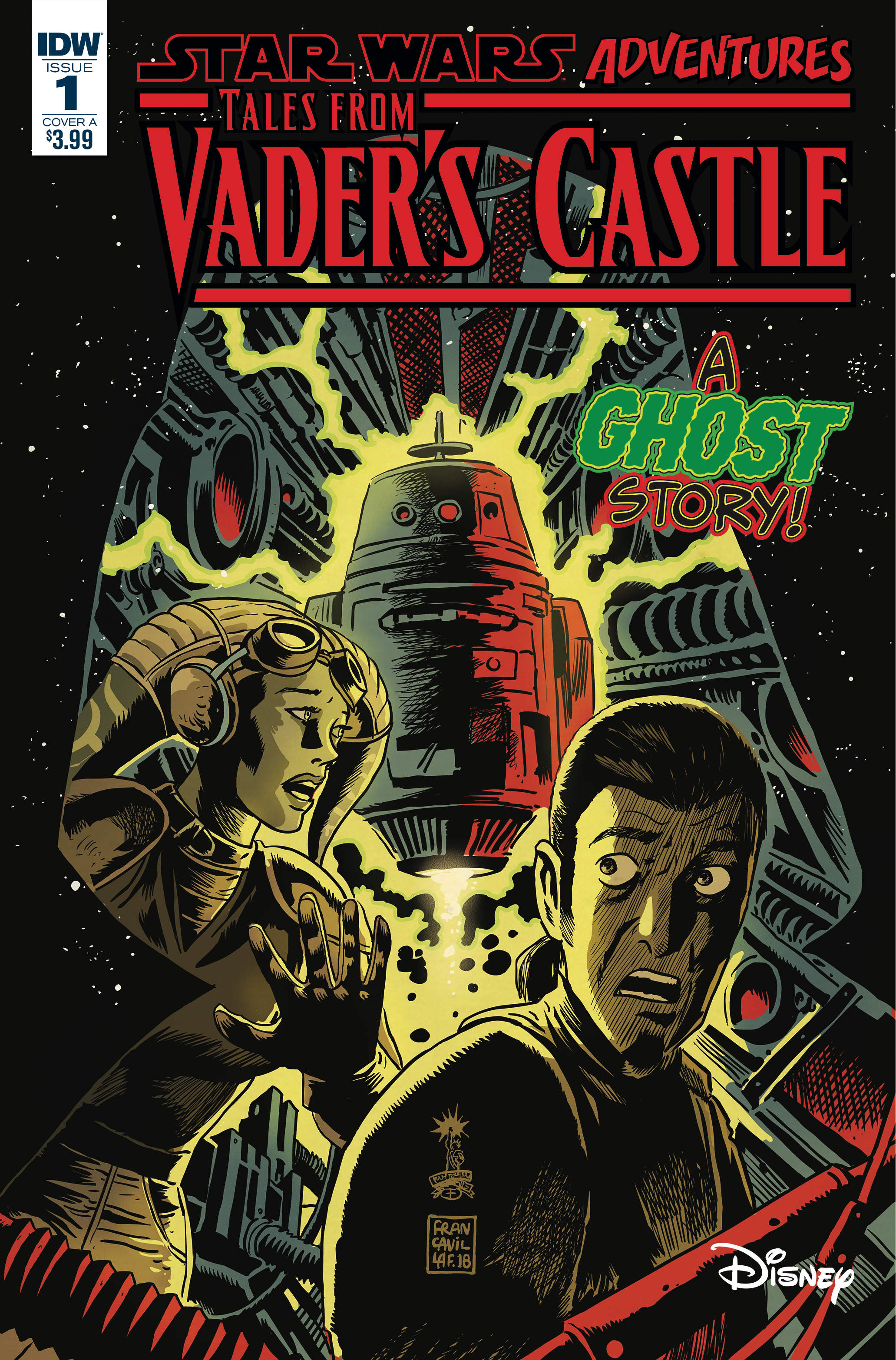 STAR WARS TALES FROM VADERS CASTLE #1 (OF 5) CVR A FRANCAVIL