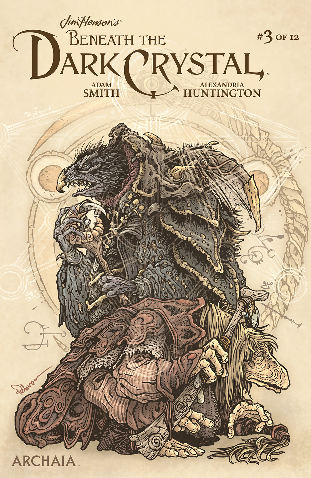 JIM HENSON BENEATH DARK CRYSTAL #3 (OF 12) SUBSCRIP PETERSEN