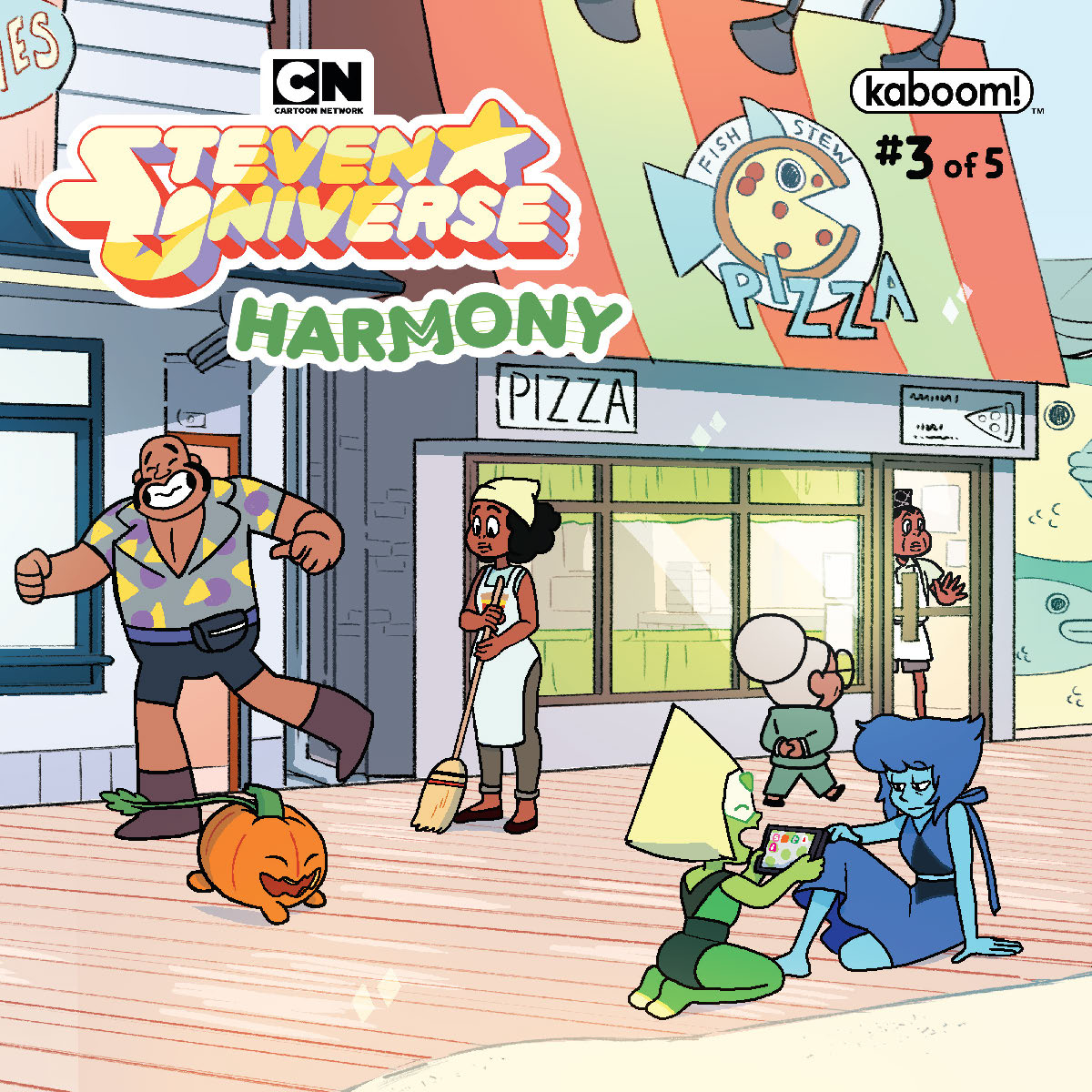 STEVEN UNIVERSE HARMONY #3 SUBSCRIPTION GANUCHEAU