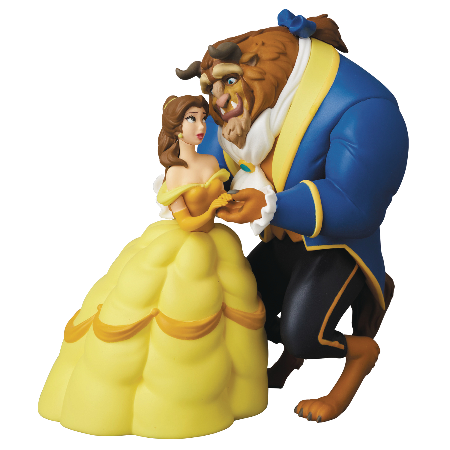 DISNEY BEAUTY & THE BEAST BELLE & BEAST UDF FIG SERIES 7