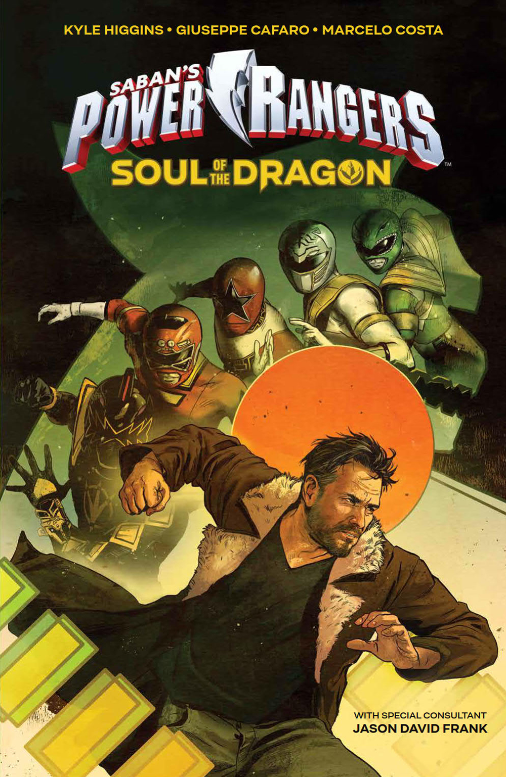 SABAN POWER RANGERS SOUL DRAGON ORIGINAL GN