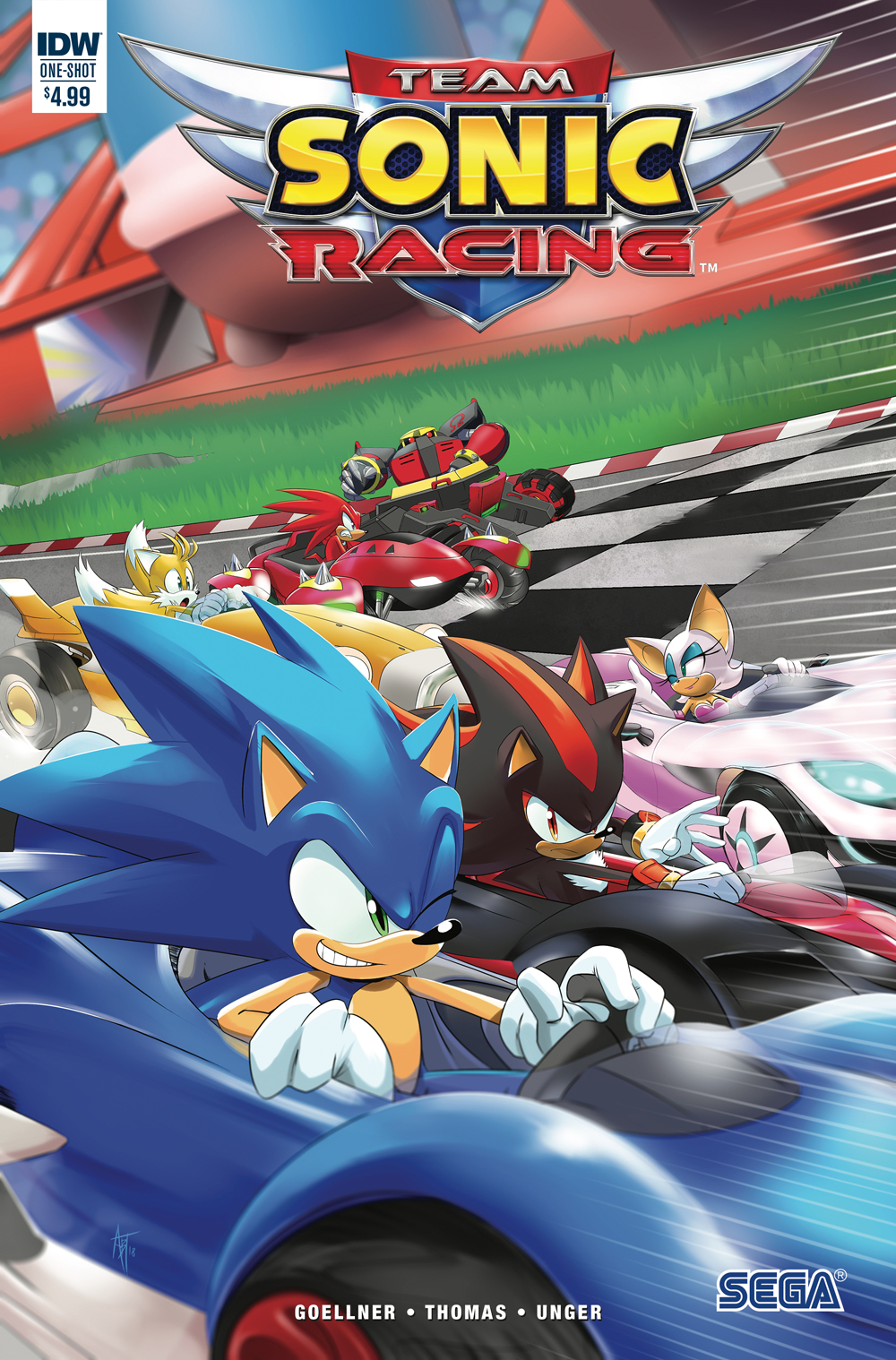 TEAM SONIC RACING (ONE-SHOT)