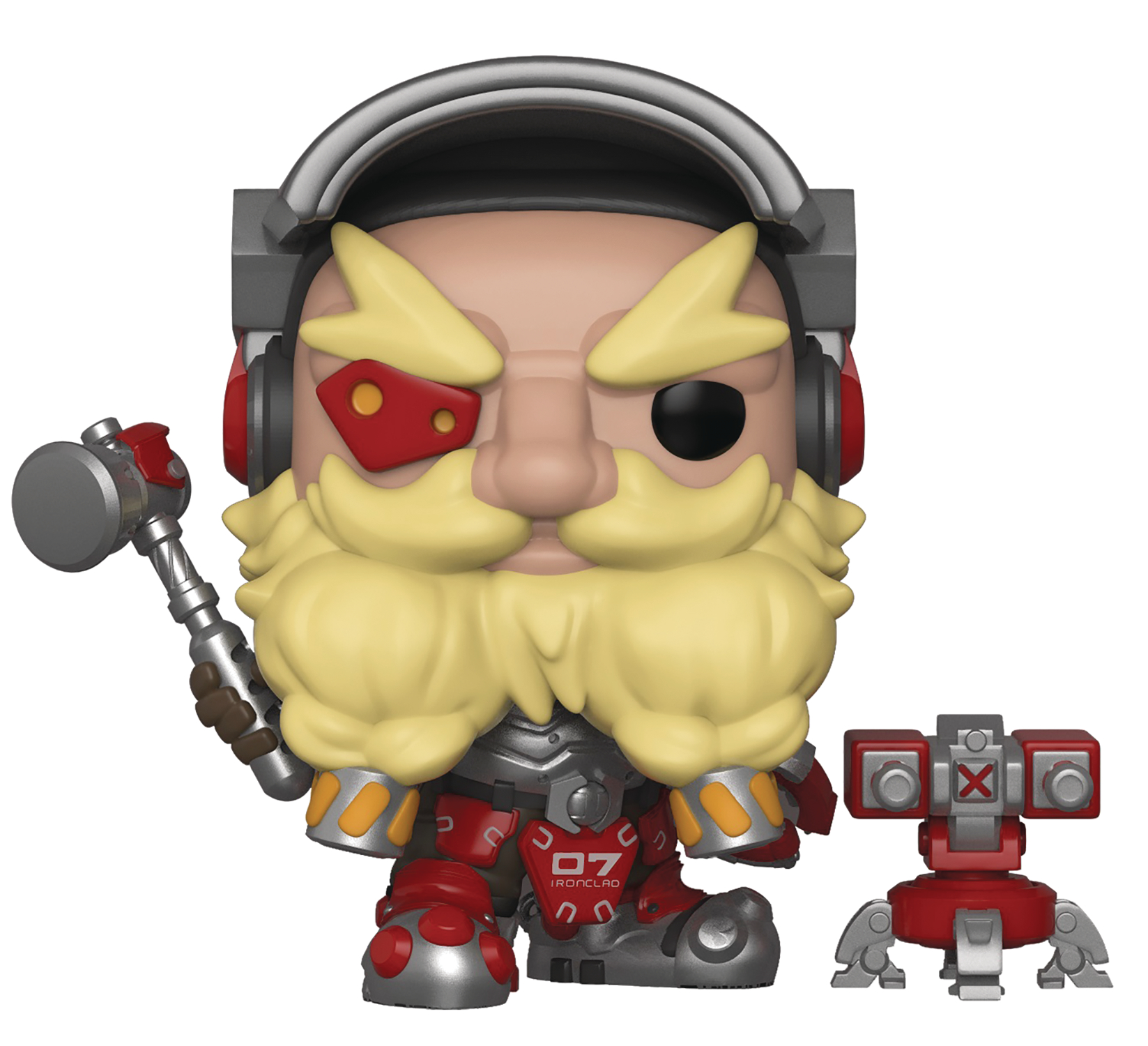 POP GAMES OVERWATCH S4 TORBJORN VINYL FIGURE