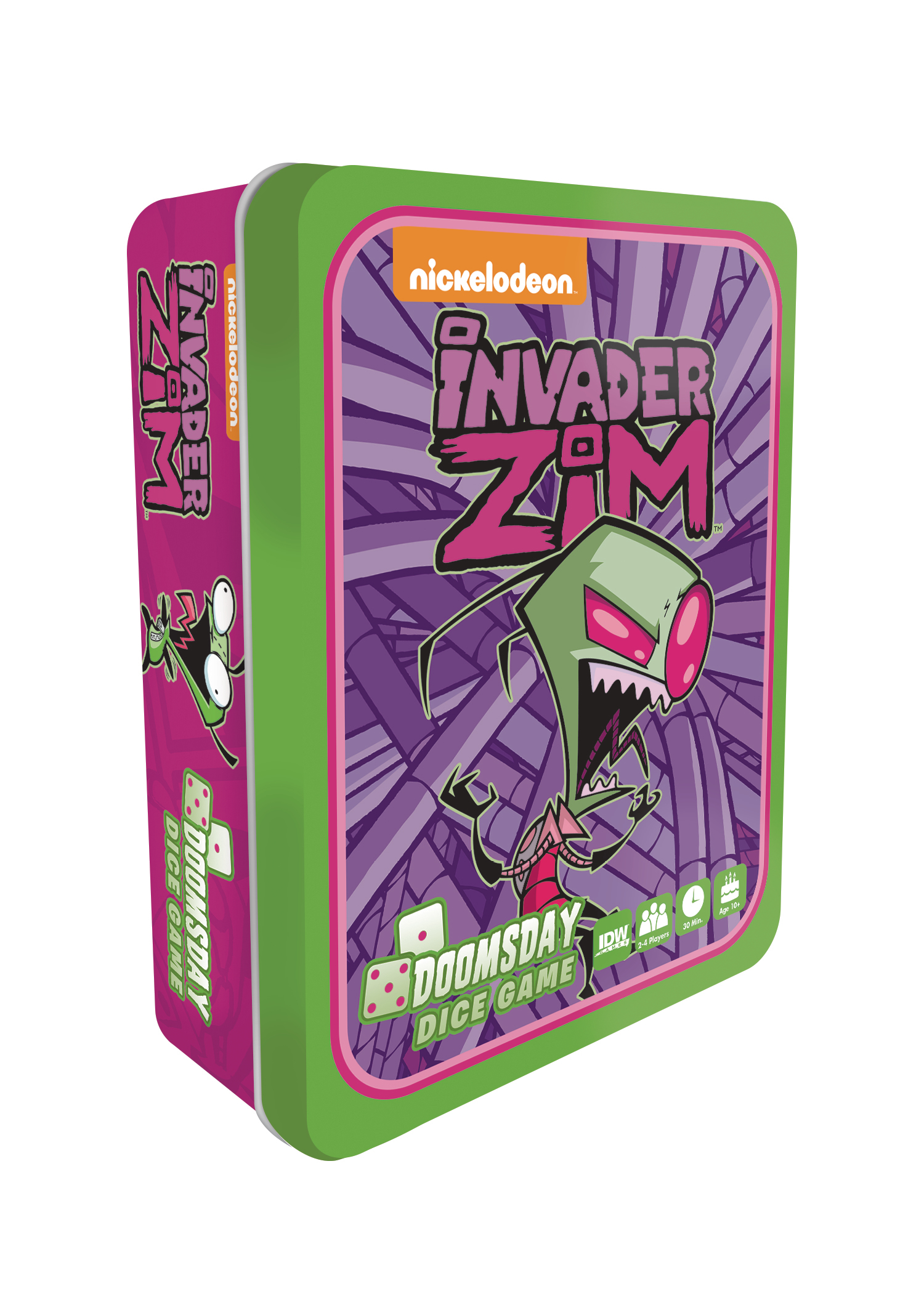 INVADER ZIM DOOMSDAY DICE GAME (O/A)