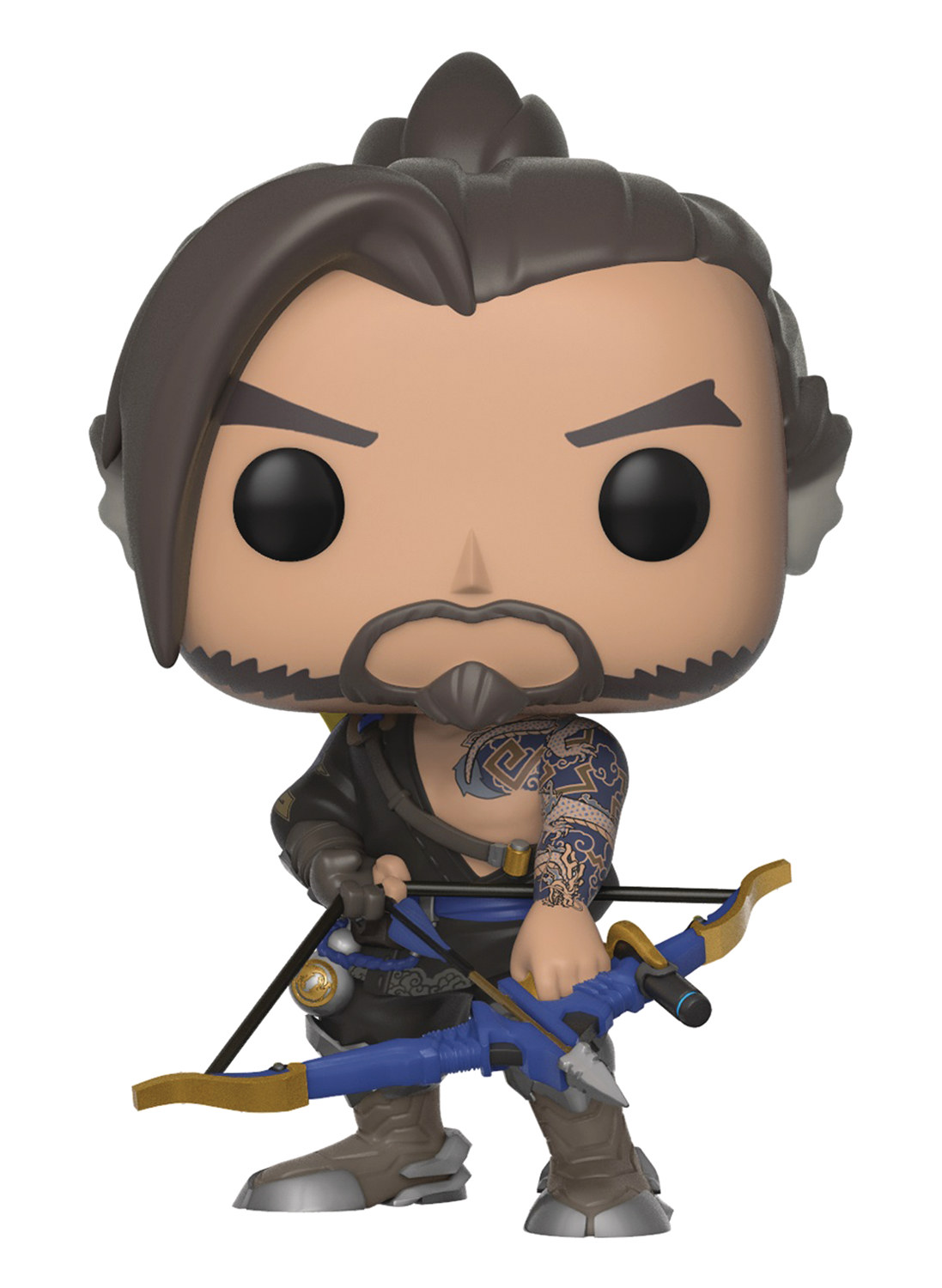 POP GAMES OVERWATCH S4 HANZO VINYL FIGURE