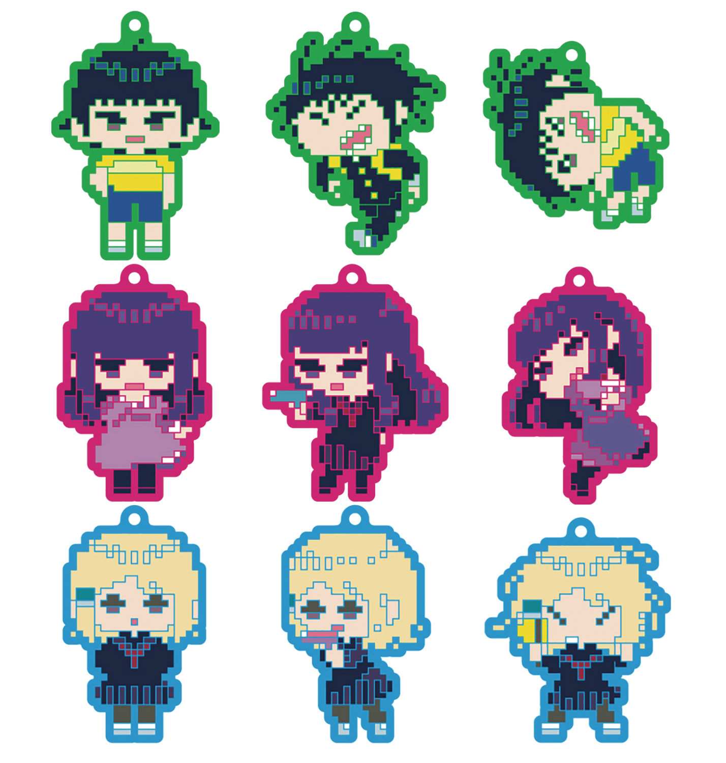 May189373 high score girl coll rubber trading straps 9pc dis 8 bit high score girl coll rubber trading straps 9pc dis 8 bit ver publicscrutiny Gallery