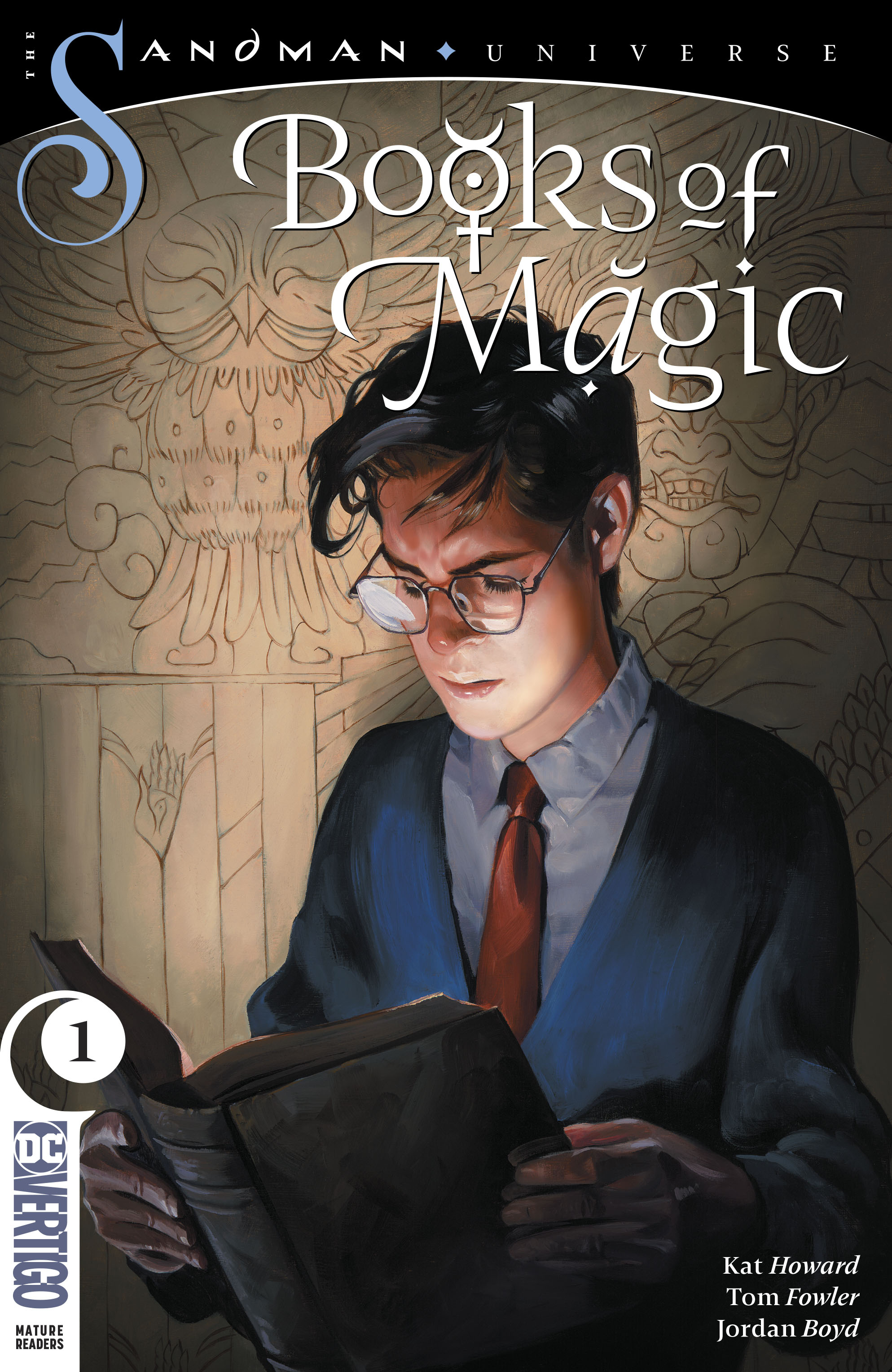 BOOKS OF MAGIC, Books Of Magic #1, tim hunter, sandman, neil gaiman, gaiman, kat howard, tom fowler