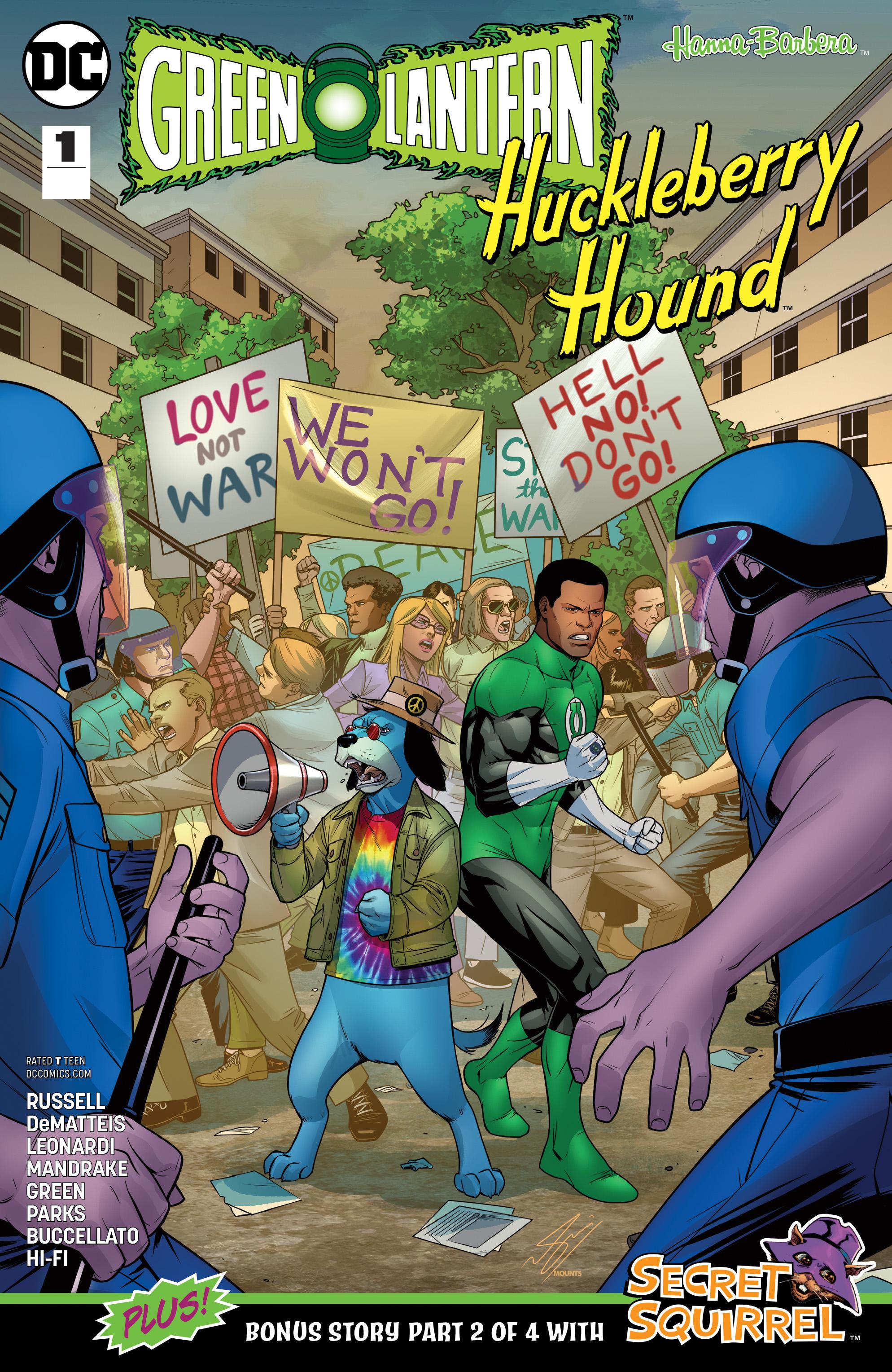 GREEN LANTERN HUCKLEBERRY HOUND SPECIAL #1
