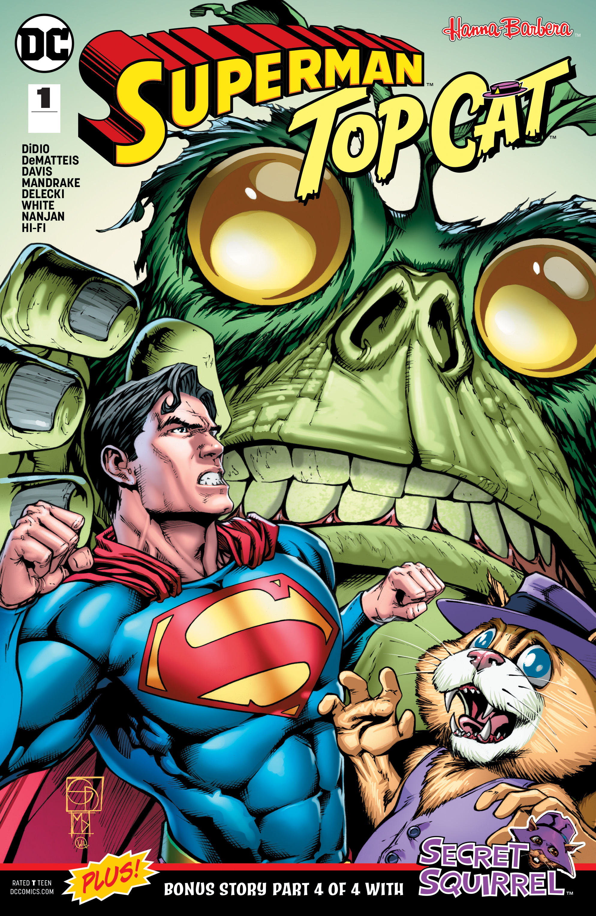 SUPERMAN TOP CAT SPECIAL #1