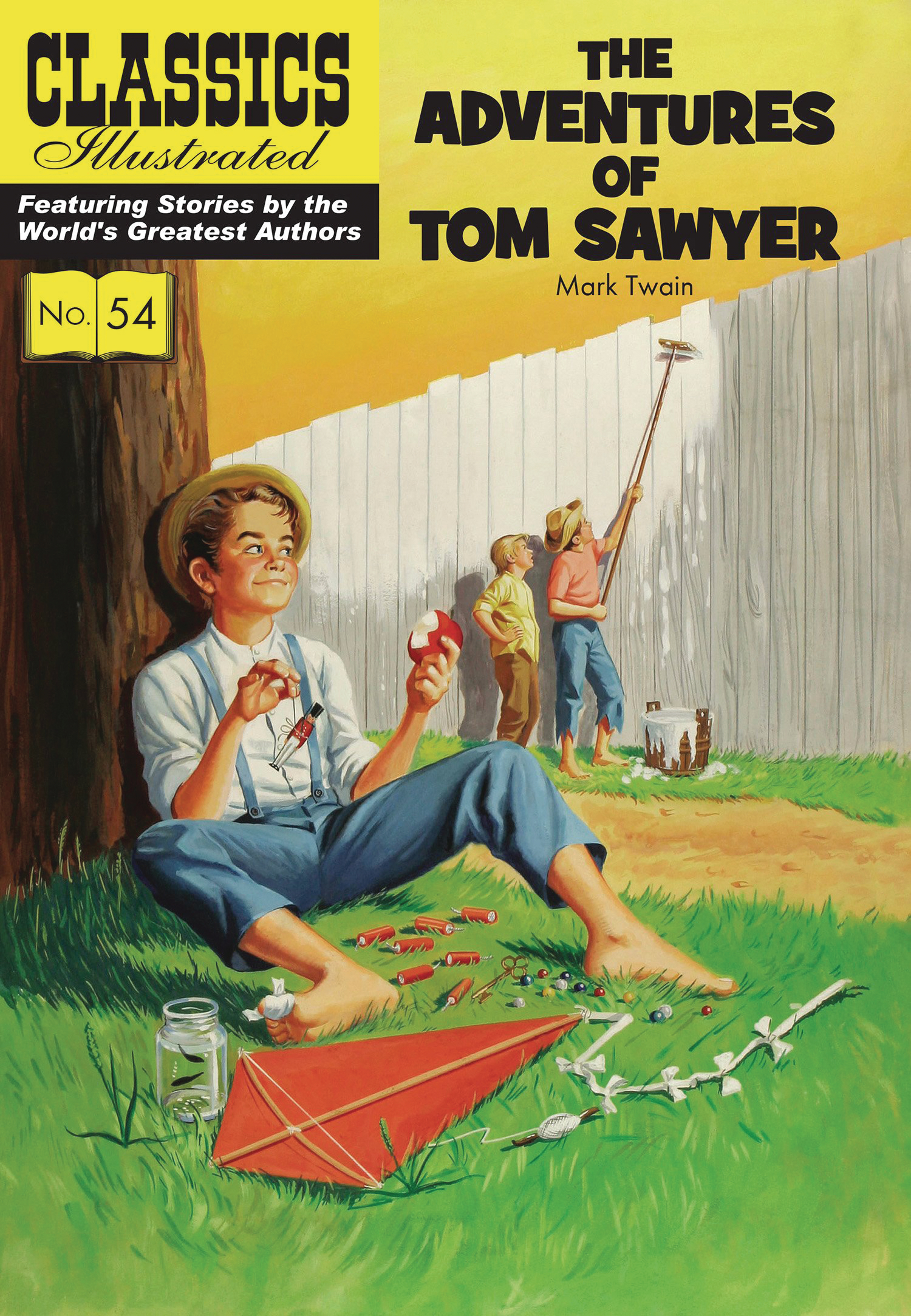 CLASSIC ILLUSTRATED TP ADV TOM SAWYER