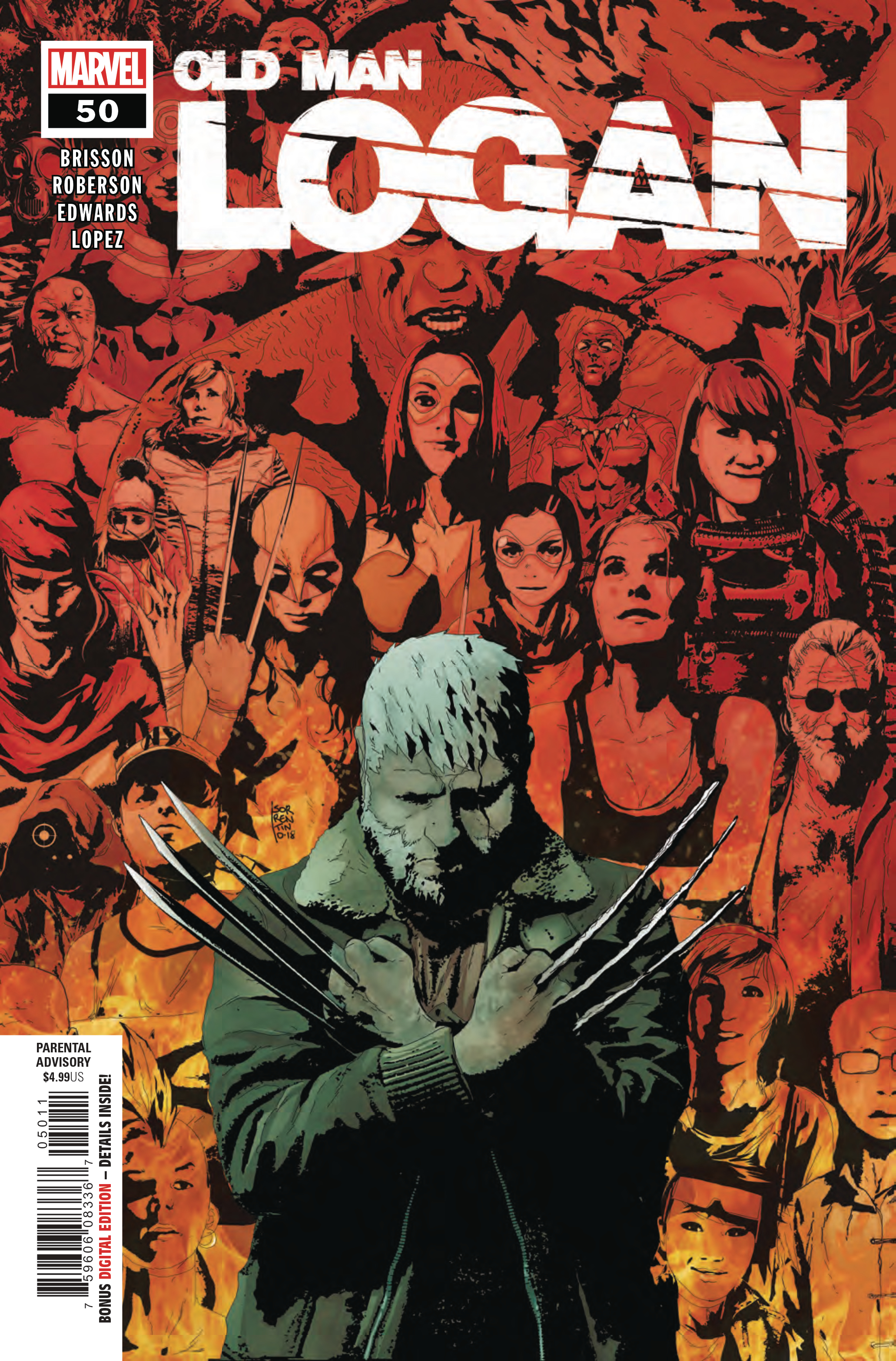 OLD MAN LOGAN #50