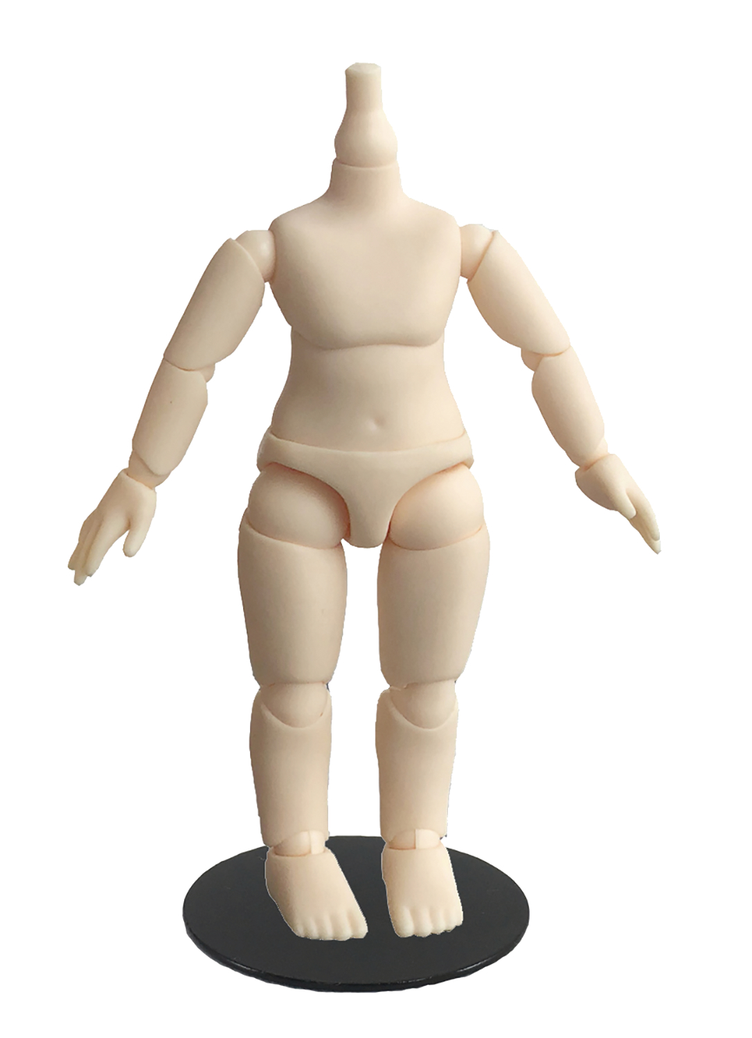 BODY9 DEFORMED DOLL BODY PVC FIGURE WHITE VER