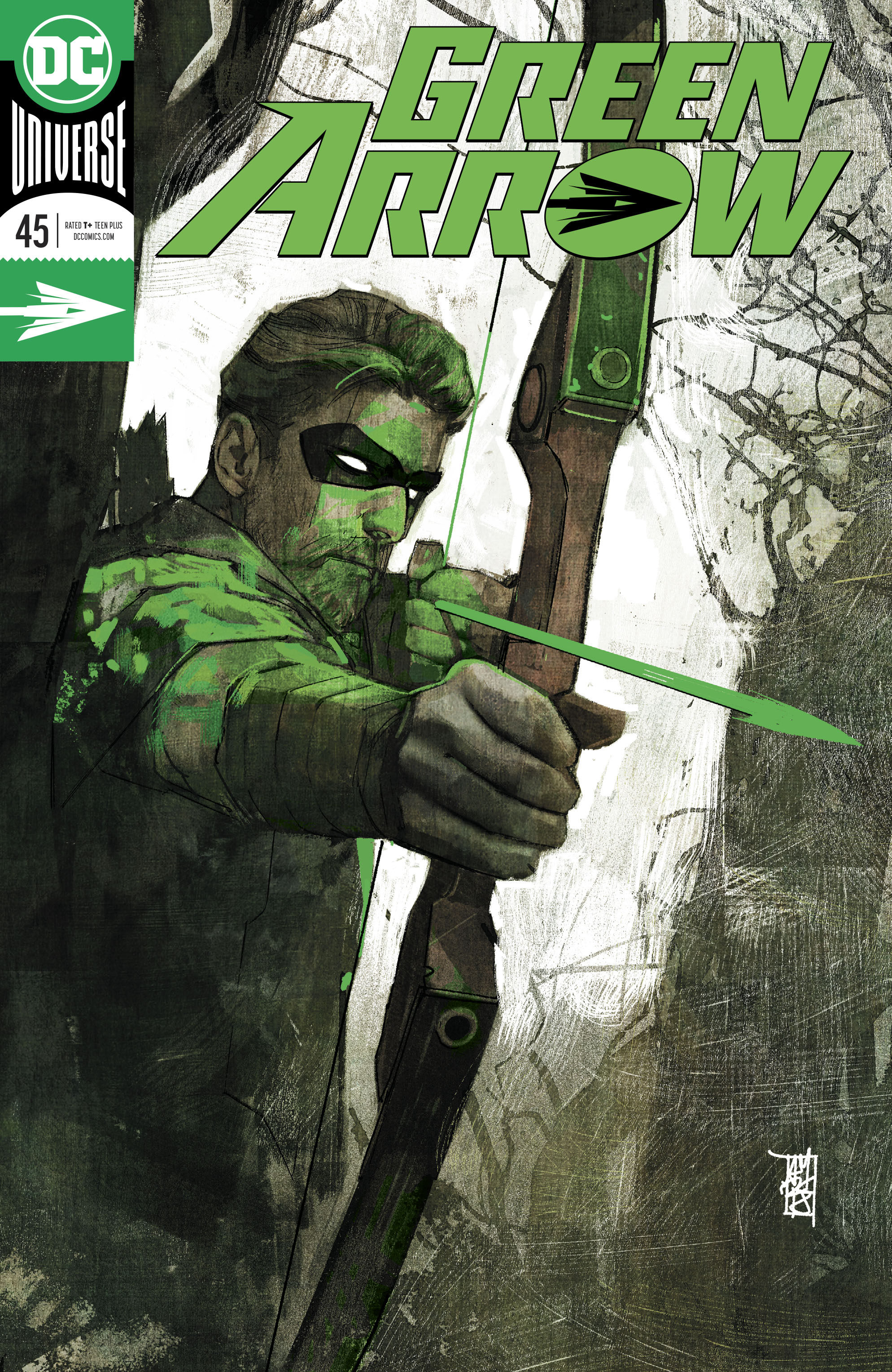 GREEN ARROW #45 FOIL (HEROES IN CRISIS)