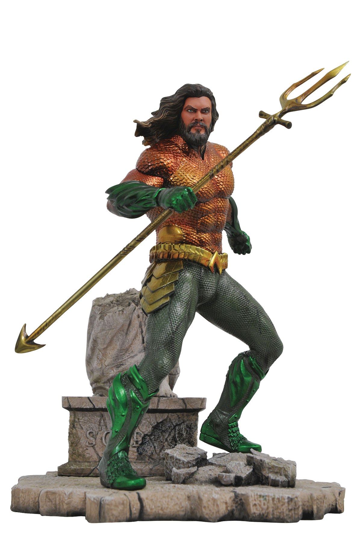 AQUAMAN MOVIE GALLERY AQUAMAN PVC FIGURE (C: 1-1-2)