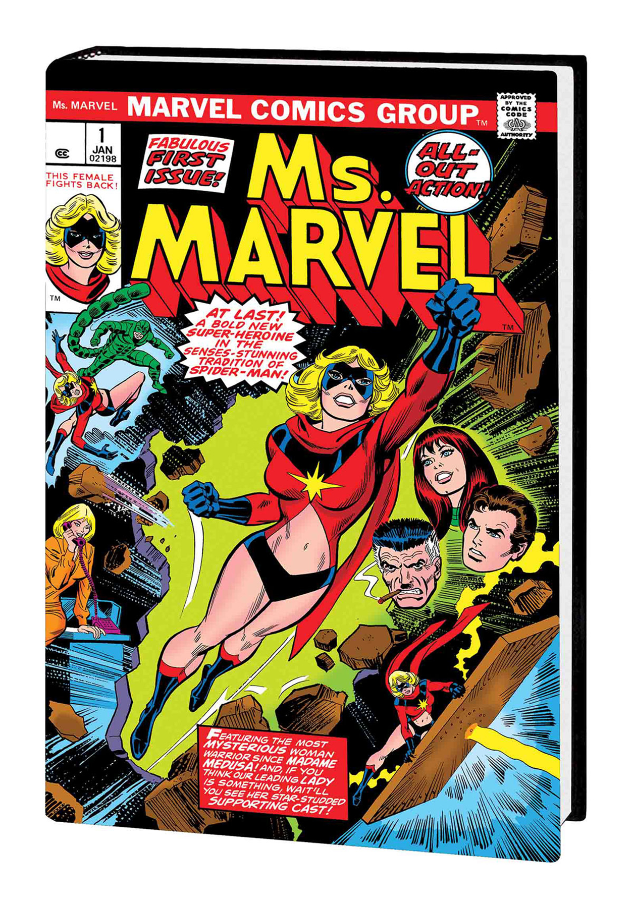 aug181070 - captain marvel ms marvel a hero is born omnibus