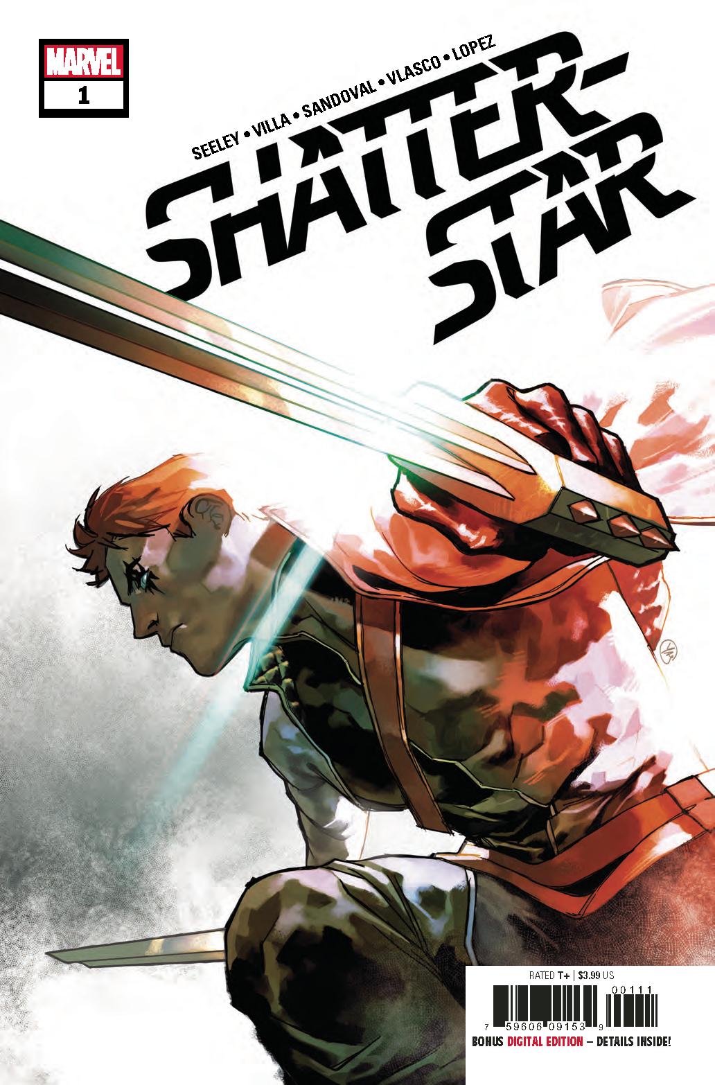 SHATTERSTAR #1 (OF 5)