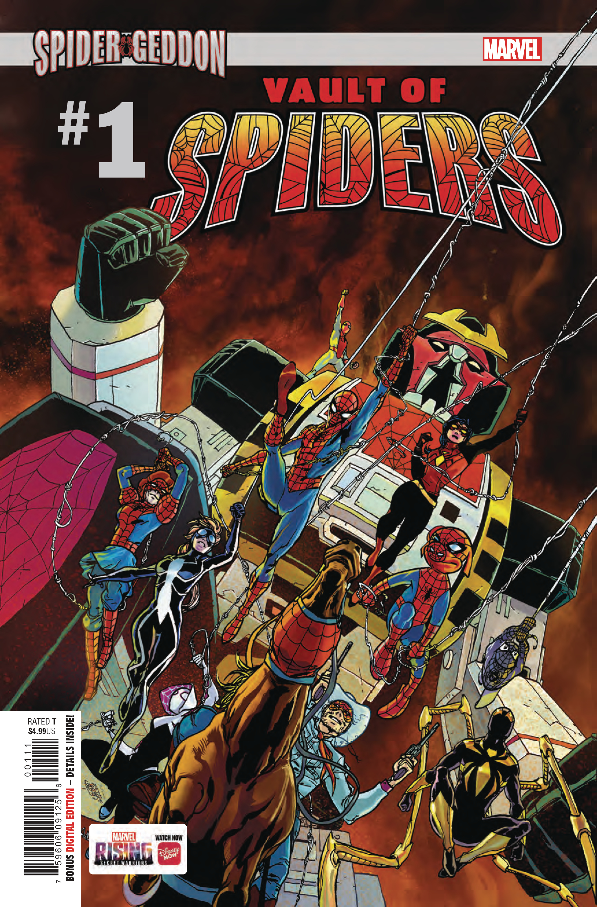 VAULT OF SPIDERS #1 (OF 2)