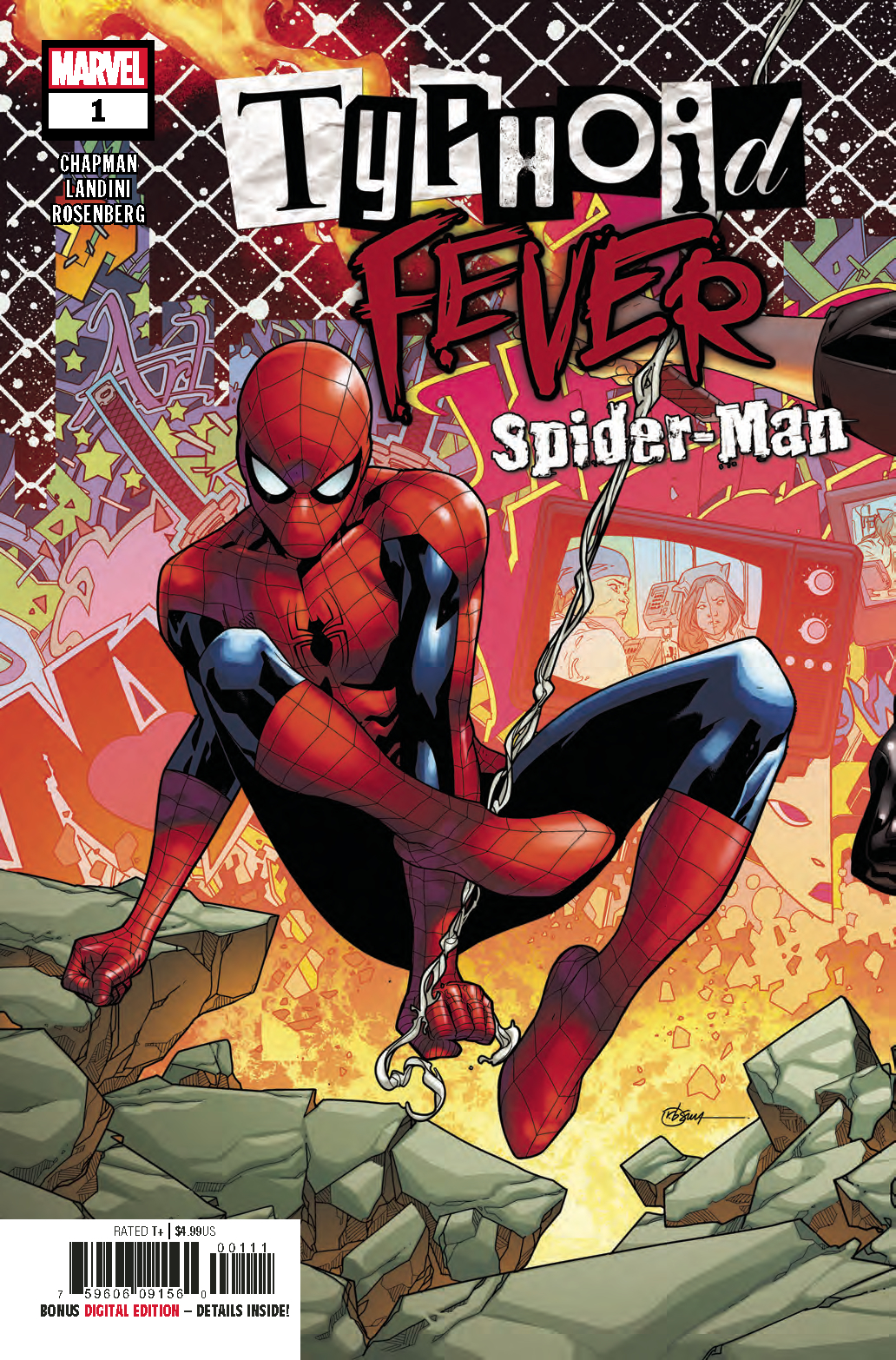 TYPHOID FEVER SPIDER-MAN #1