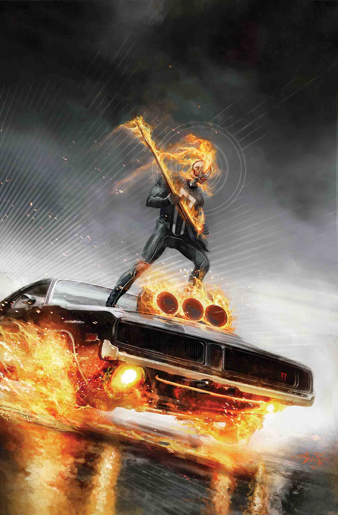 Ghost rider 1 previews world