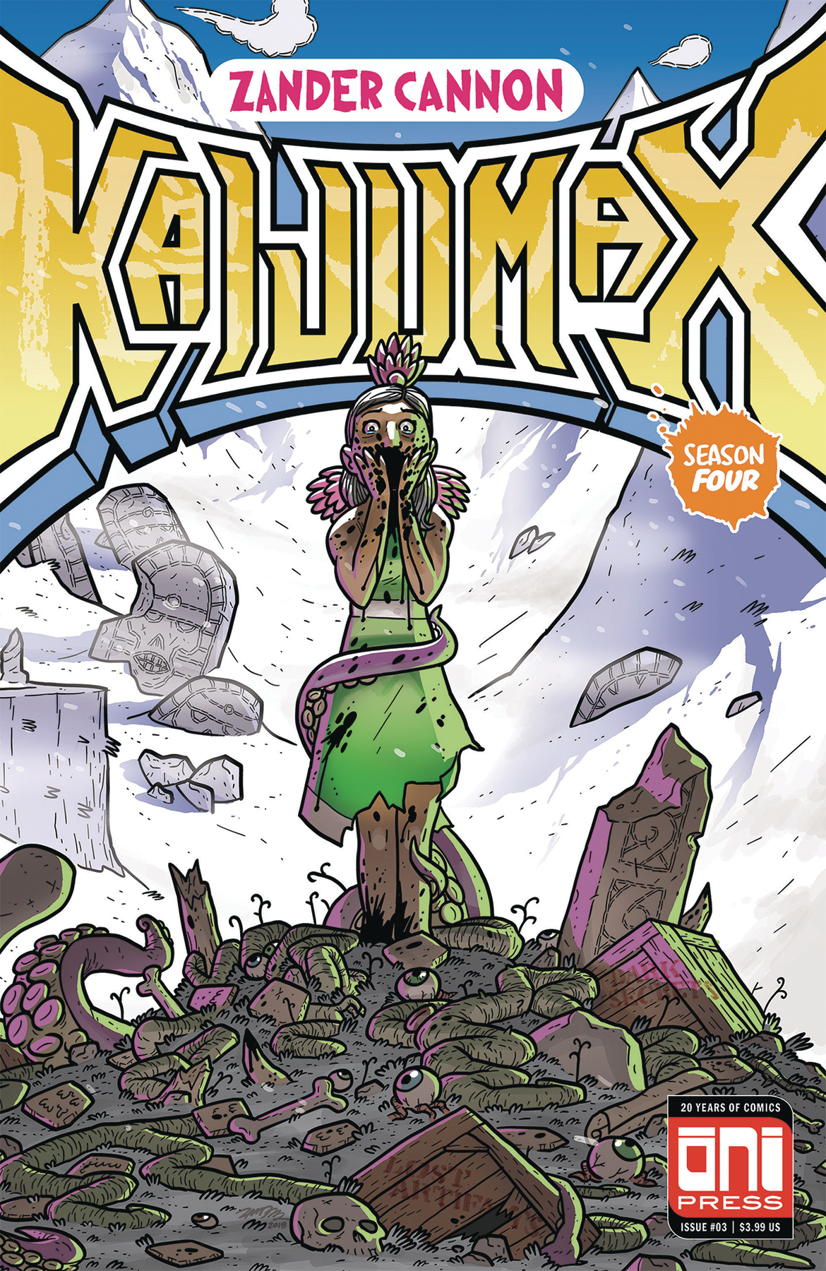 KAIJUMAX SEASON 4 #3 (OF 6) (MR)