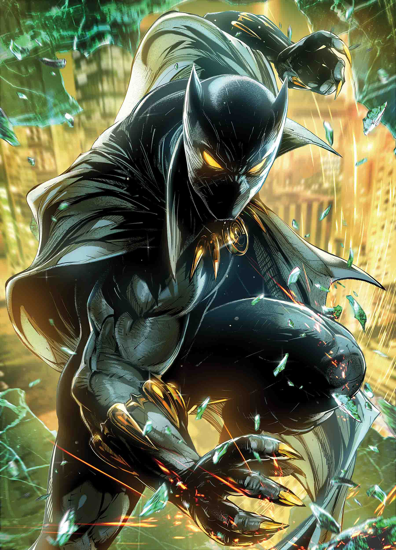 BLACK PANTHER #5 MAXX LIM MARVEL BATTLE LINES VAR