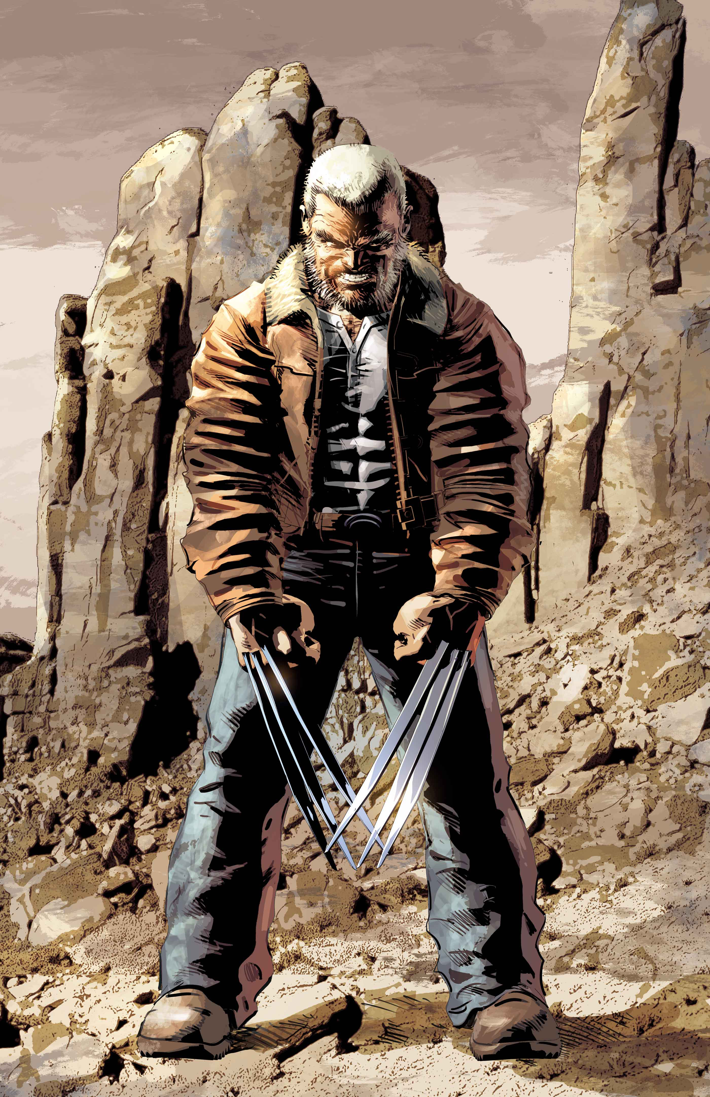 OLD MAN LOGAN #50 DEODATO FINAL ISSUE VAR