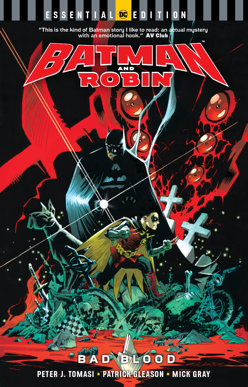 BATMAN AND ROBIN BAD BLOOD ESSENTIAL EDITION TP
