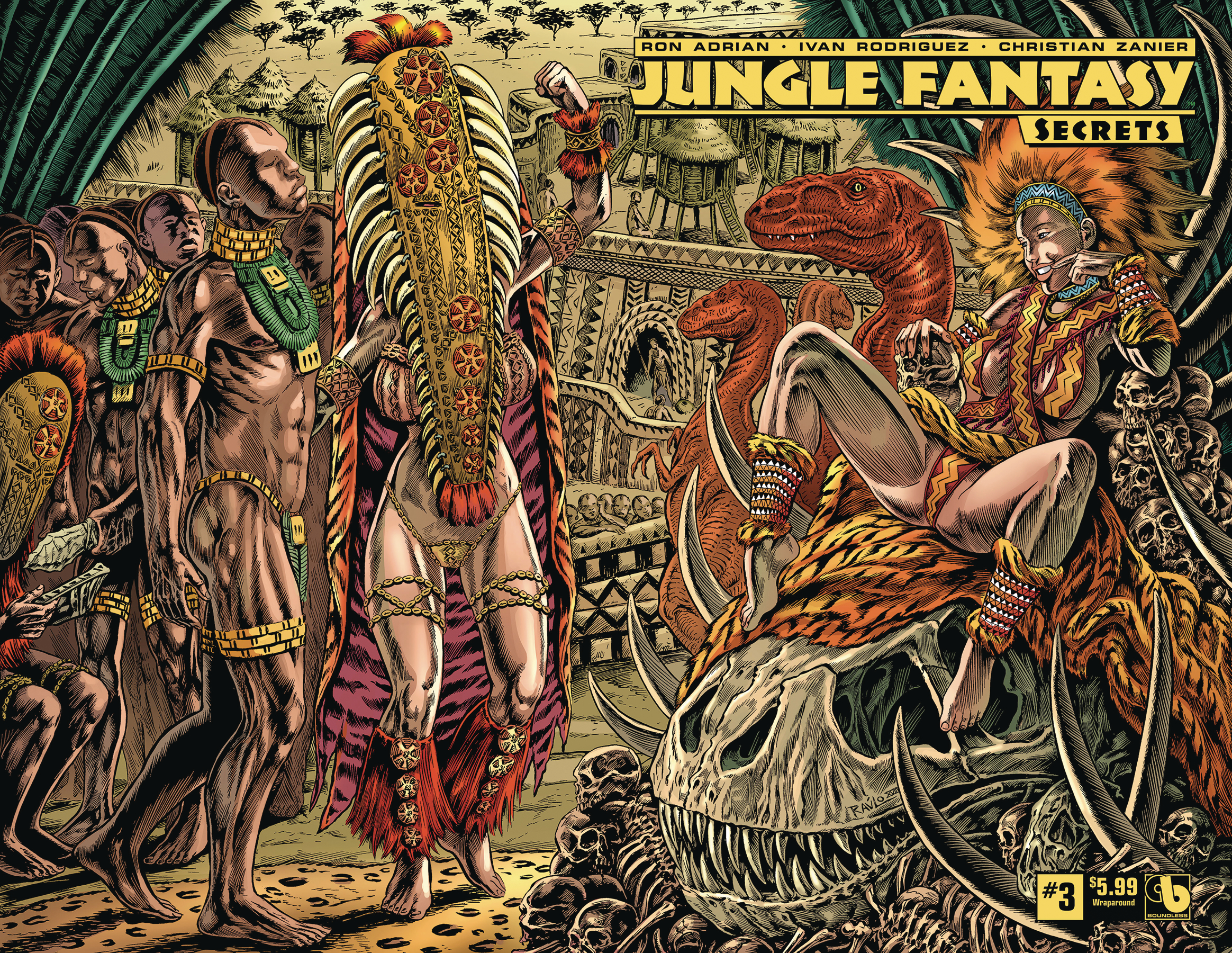 JUNGLE FANTASY SECRETS #3 WRAP (MR)