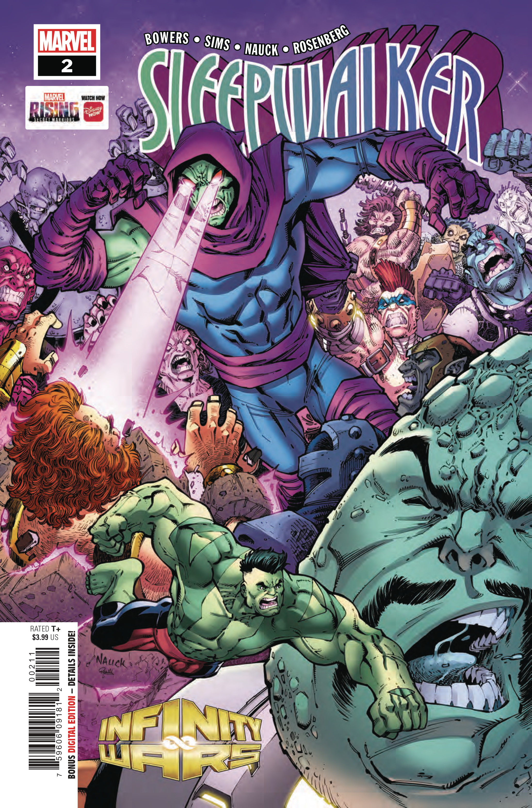 INFINITY WARS SLEEPWALKER #2 (OF 4)