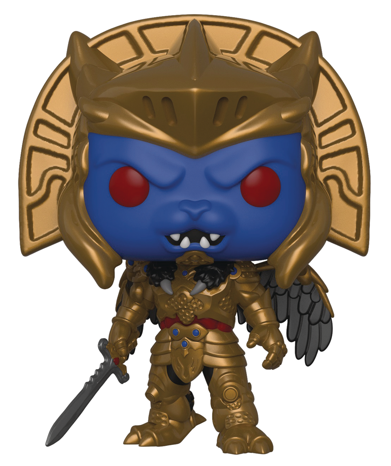 POP TV POWER RANGERS S7 GOLDAR VINYL FIG