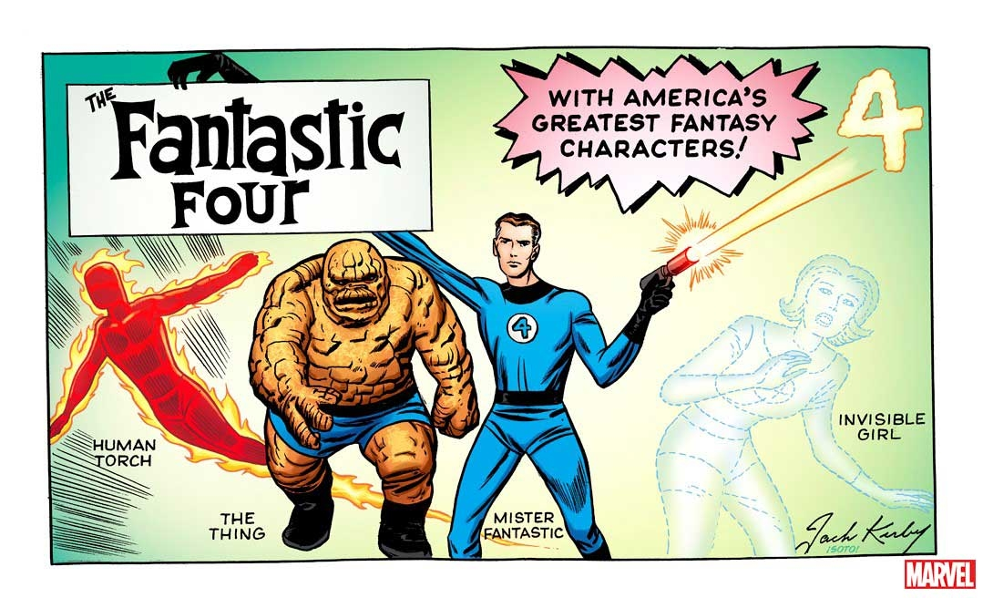 FANTASTIC FOUR #1 KIRBY HIDDEN GEM VAR