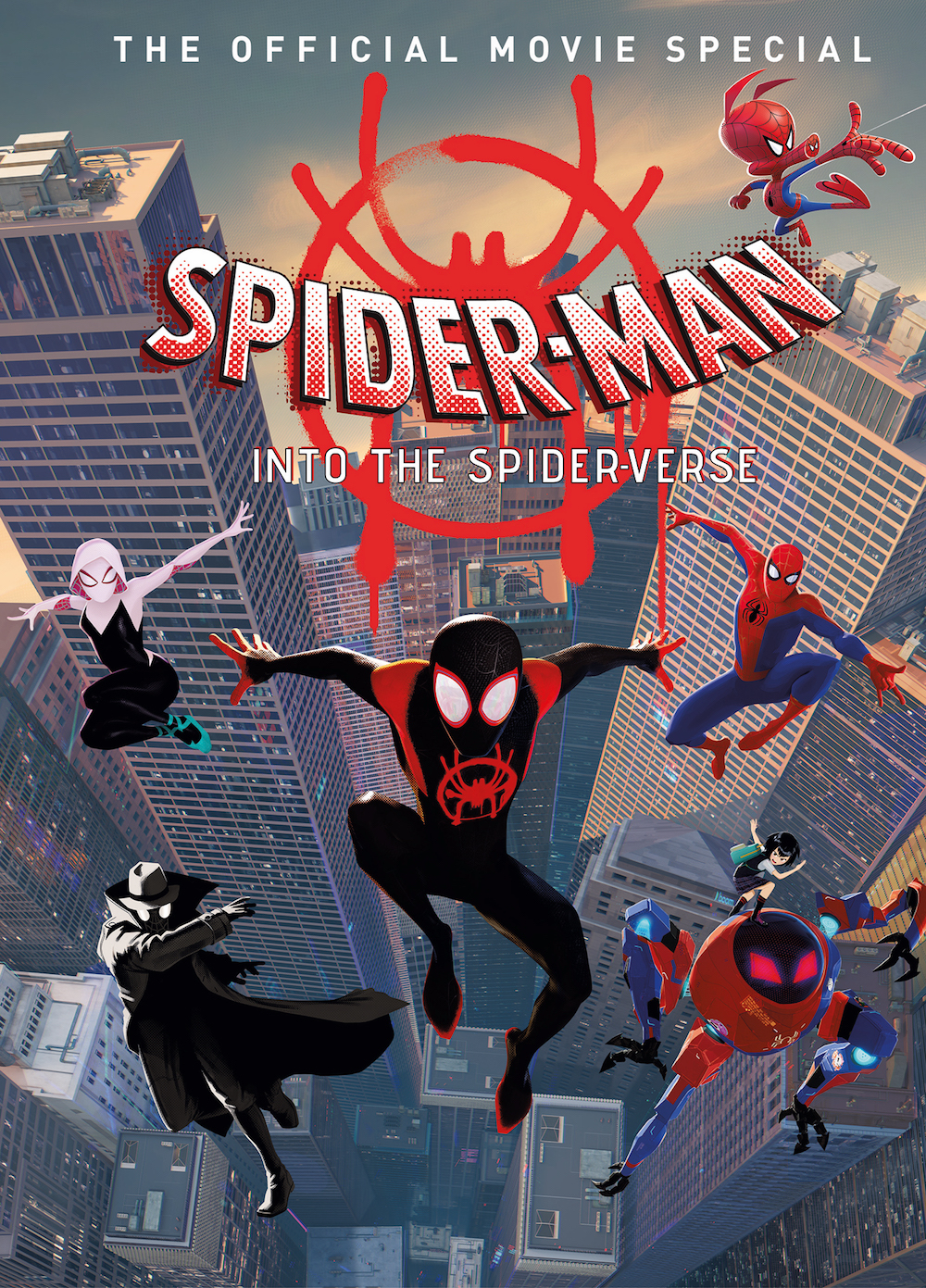 SPIDER-MAN INTO THE SPIDERVERSE MOVIE SPECIAL HC