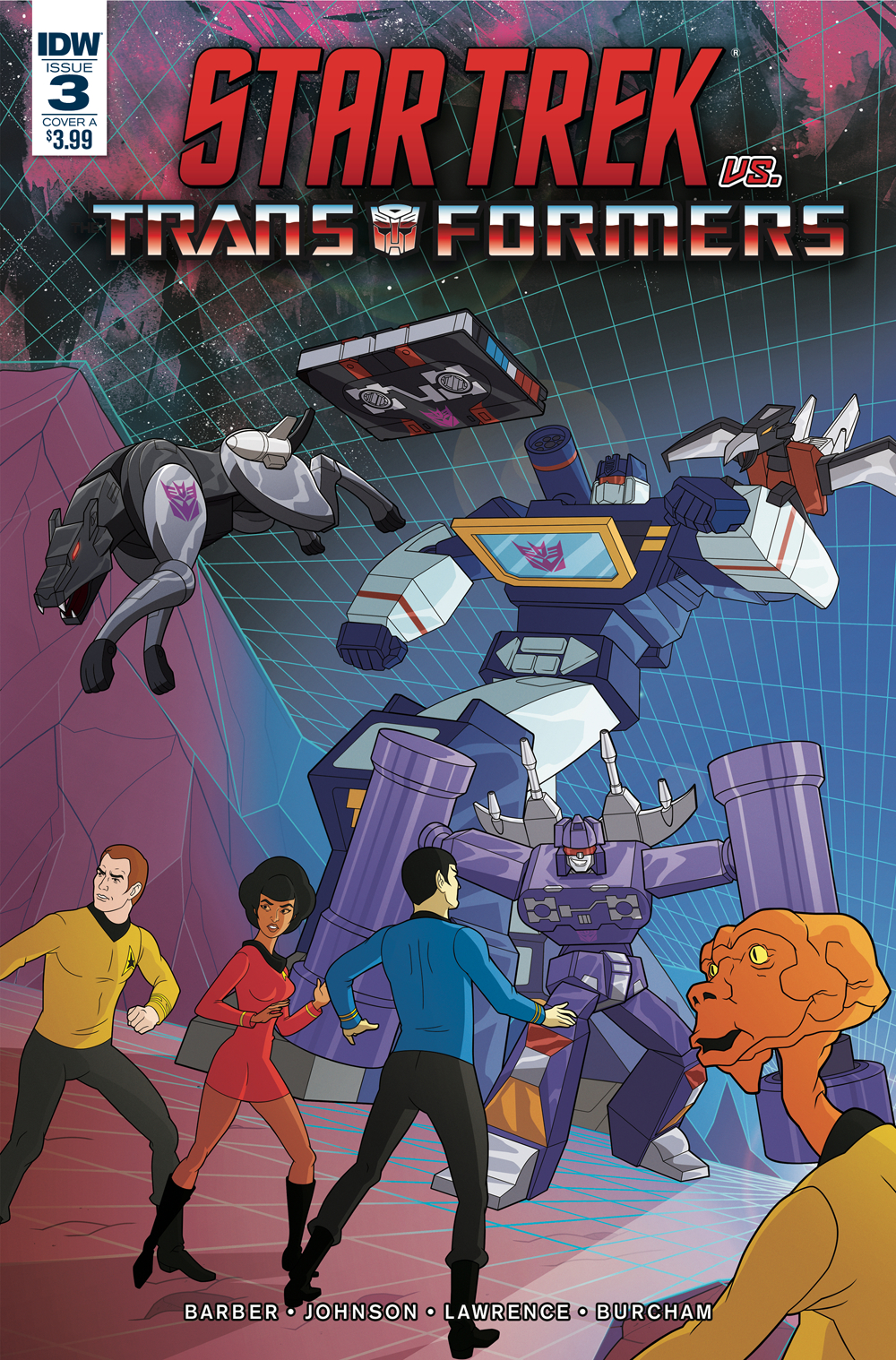 STAR TREK VS TRANSFORMERS #3 (OF 4) CVR A MURPHY