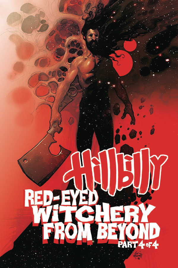HILLBILLY RED EYED WITCHERY FROM BEYOND #4 (OF 4) (RES)