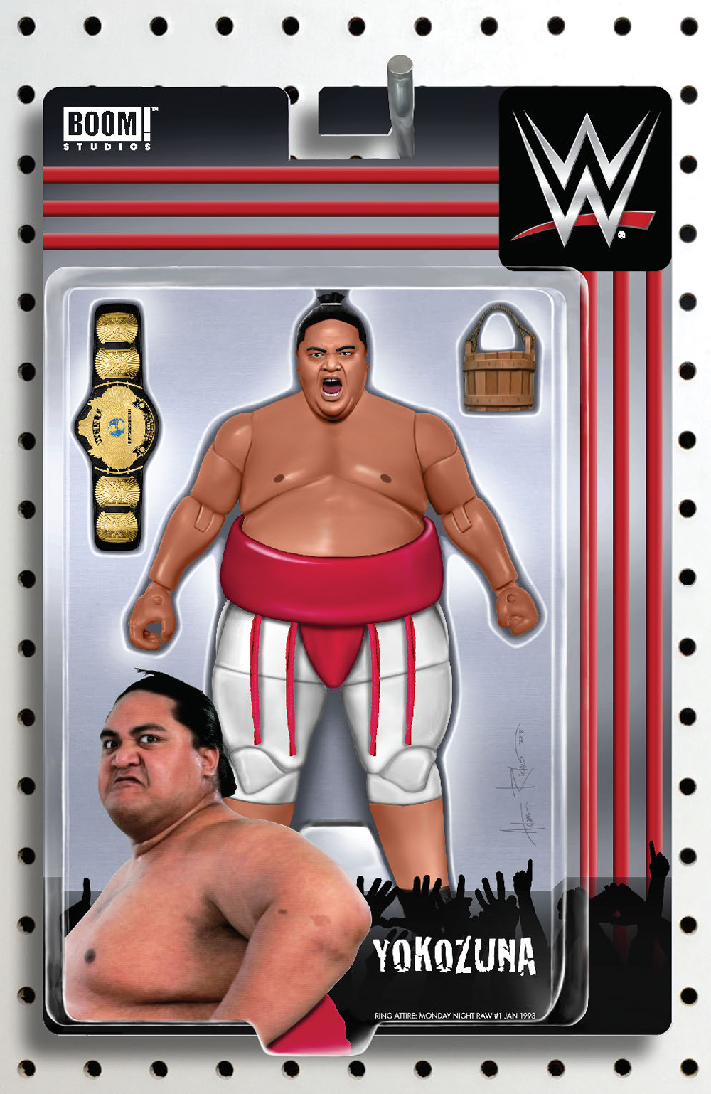 WWE #22 RICHES ACTION FIGURE VAR