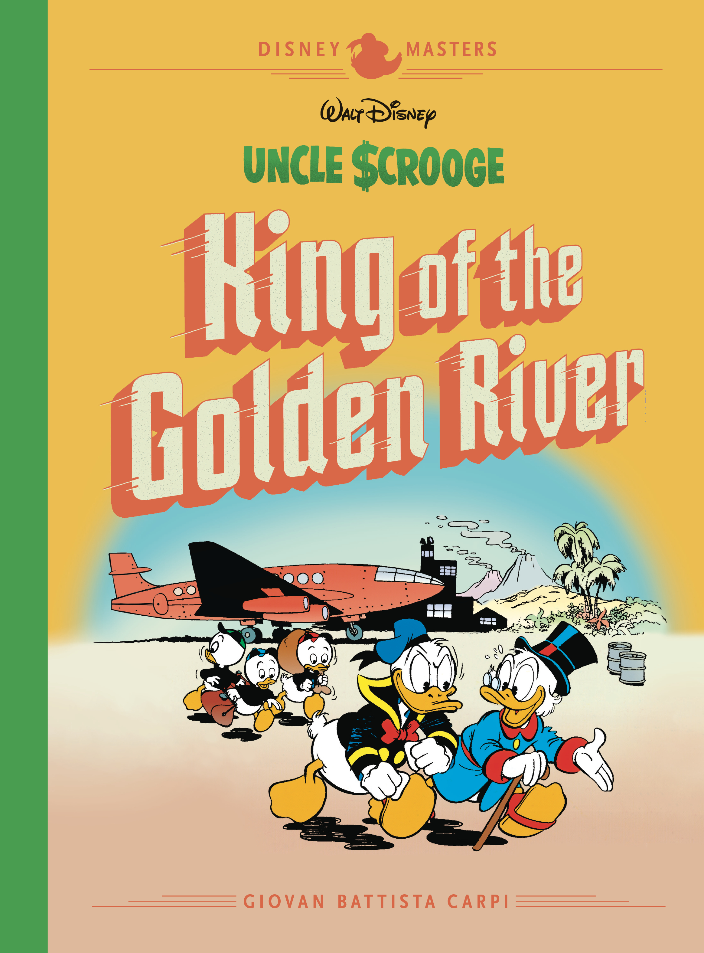DISNEY MASTERS HC VOL 06 CARPI SCROOGE GOLDEN RIVER