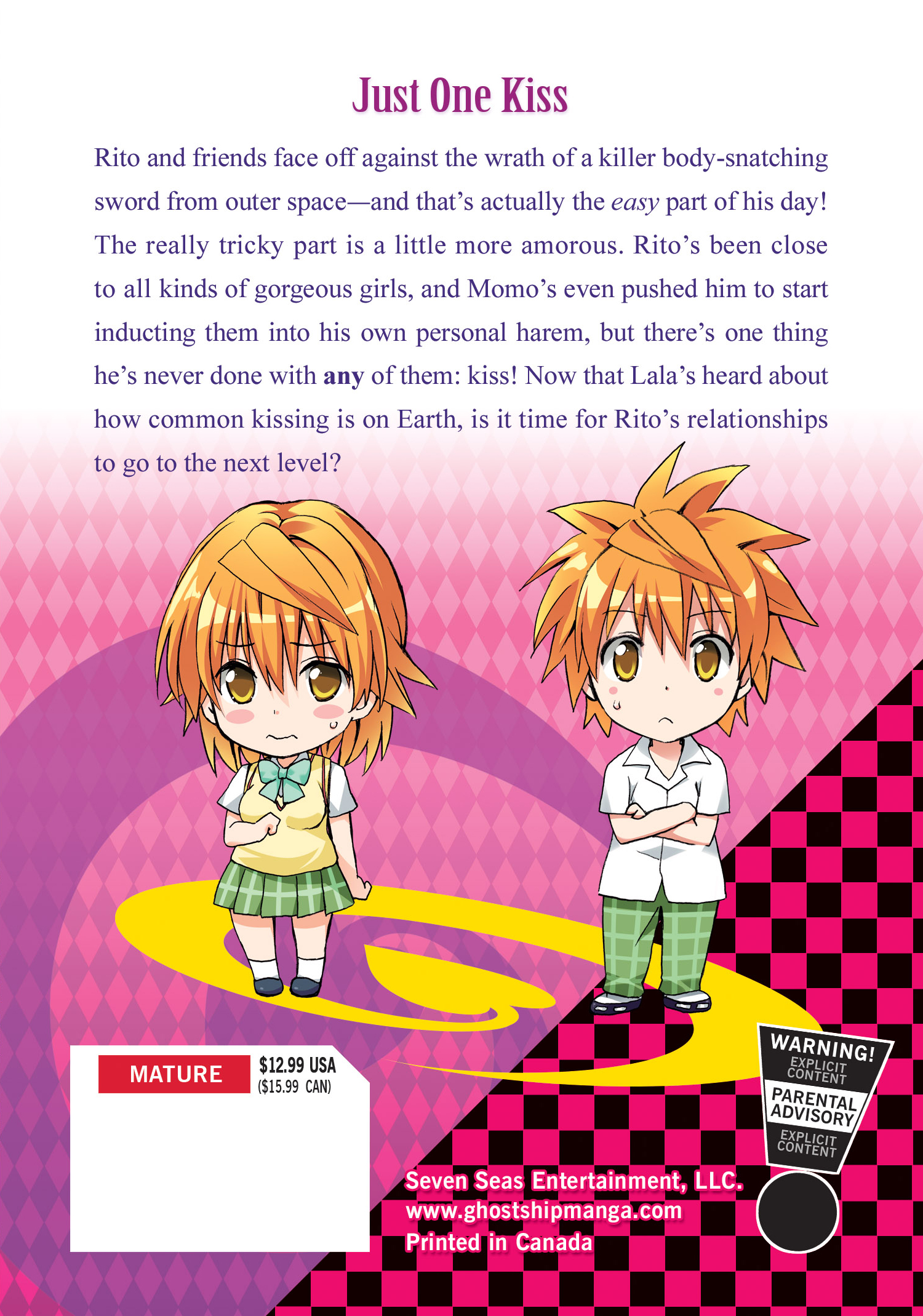 TO LOVE RU DARKNESS GN VOL 09 (NOV182267) (MR)