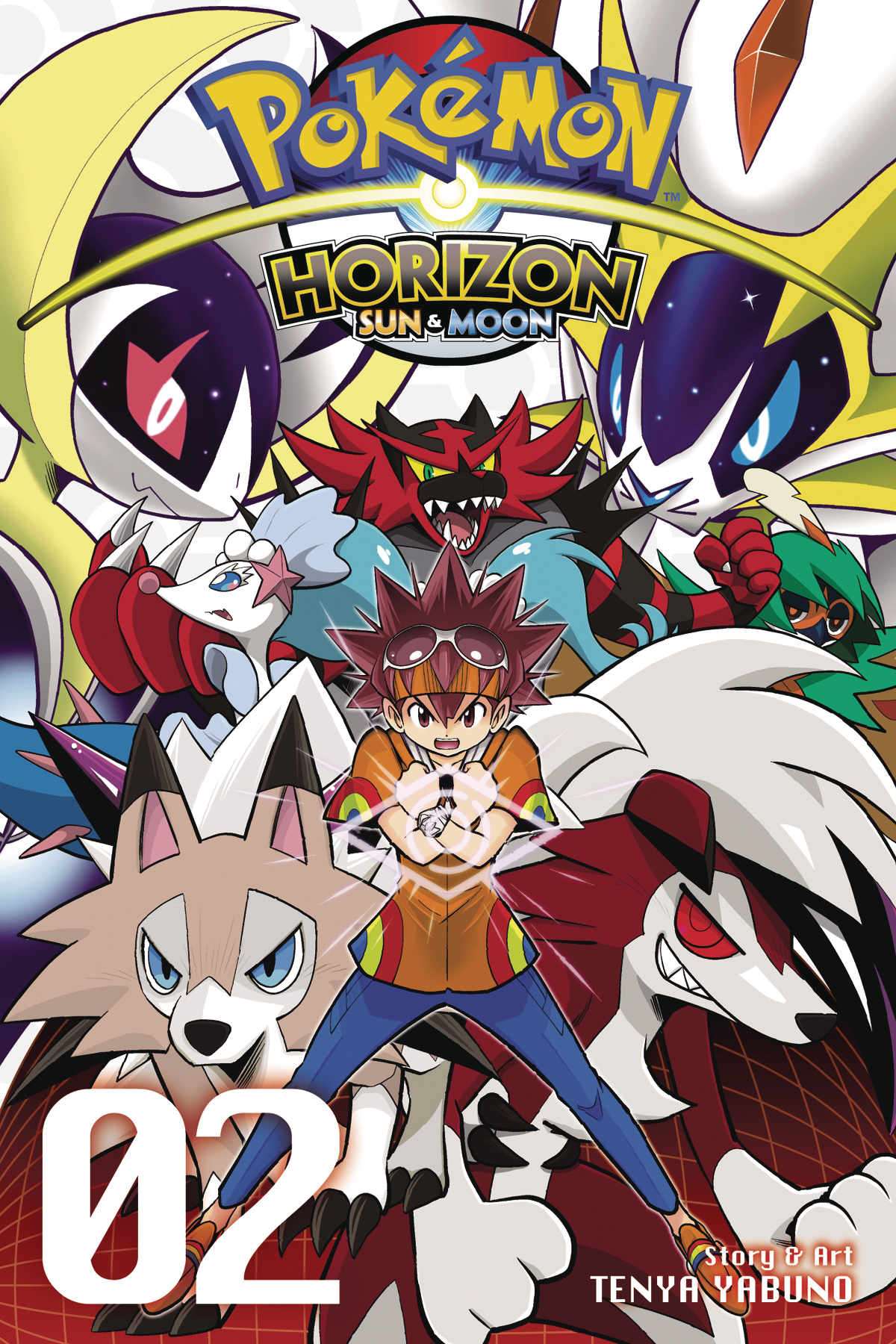 POKEMON HORIZON SUN & MOON GN VOL 02