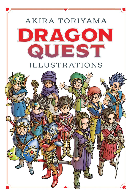 DRAGON QUEST ILLUSTRATIONS 30th ANNIV Edition HC