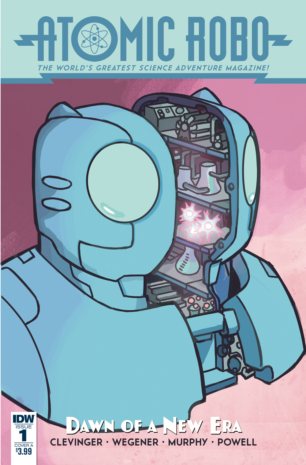 ATOMIC ROBO & DAWN OF NEW ERA #1 (OF 5) CVR A WEGENER
