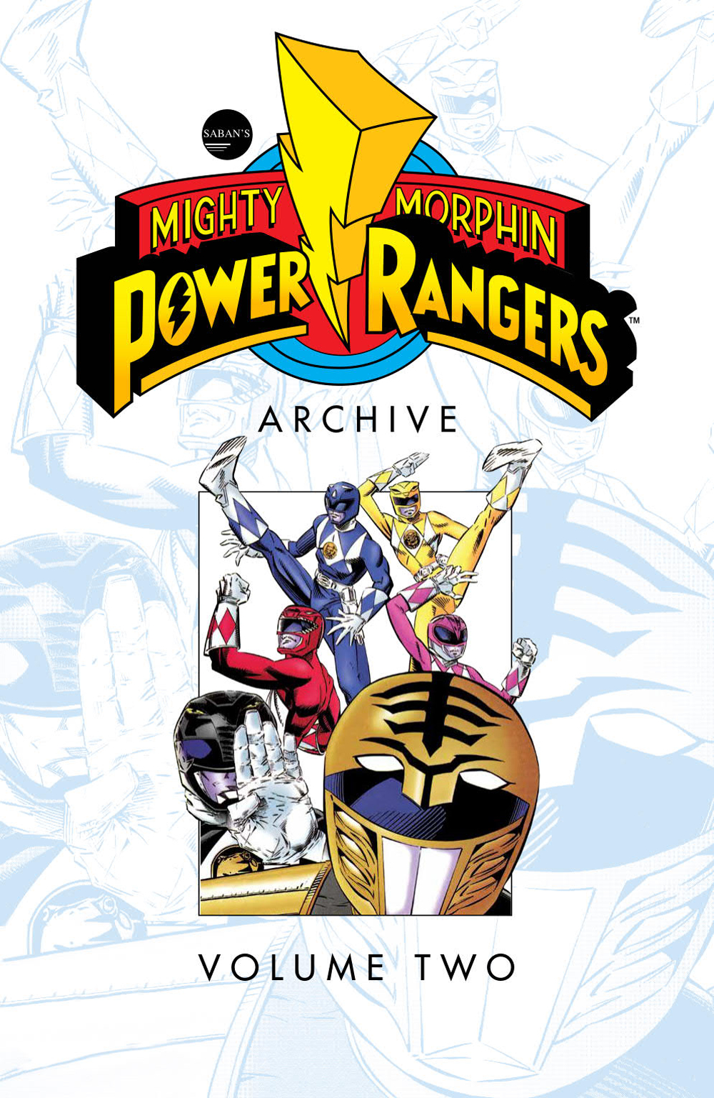 MIGHTY MORPHIN POWER RANGERS ARCHIVE TP VOL 02