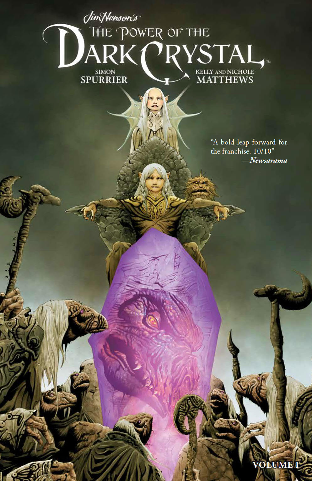 JIM HENSON POWER OF DARK CRYSTAL TP VOL 01