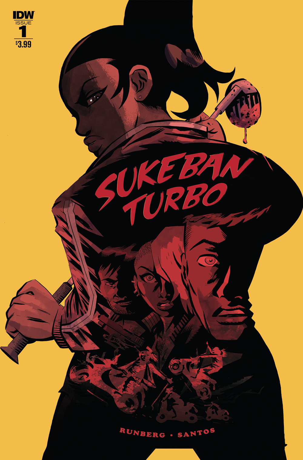 SUKEBAN TURBO #1 (OF 4) CVR A SANTOS